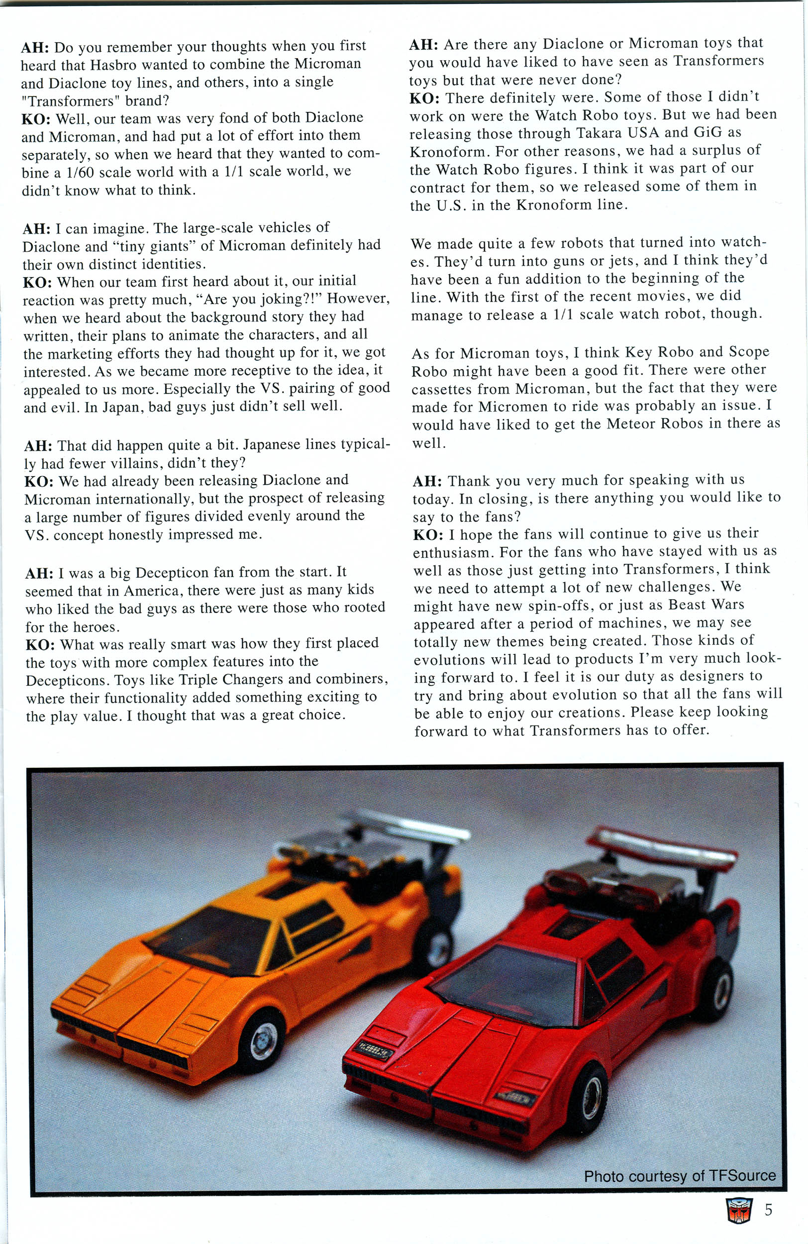 Read online Transformers: Collectors' Club comic -  Issue #46 - 5