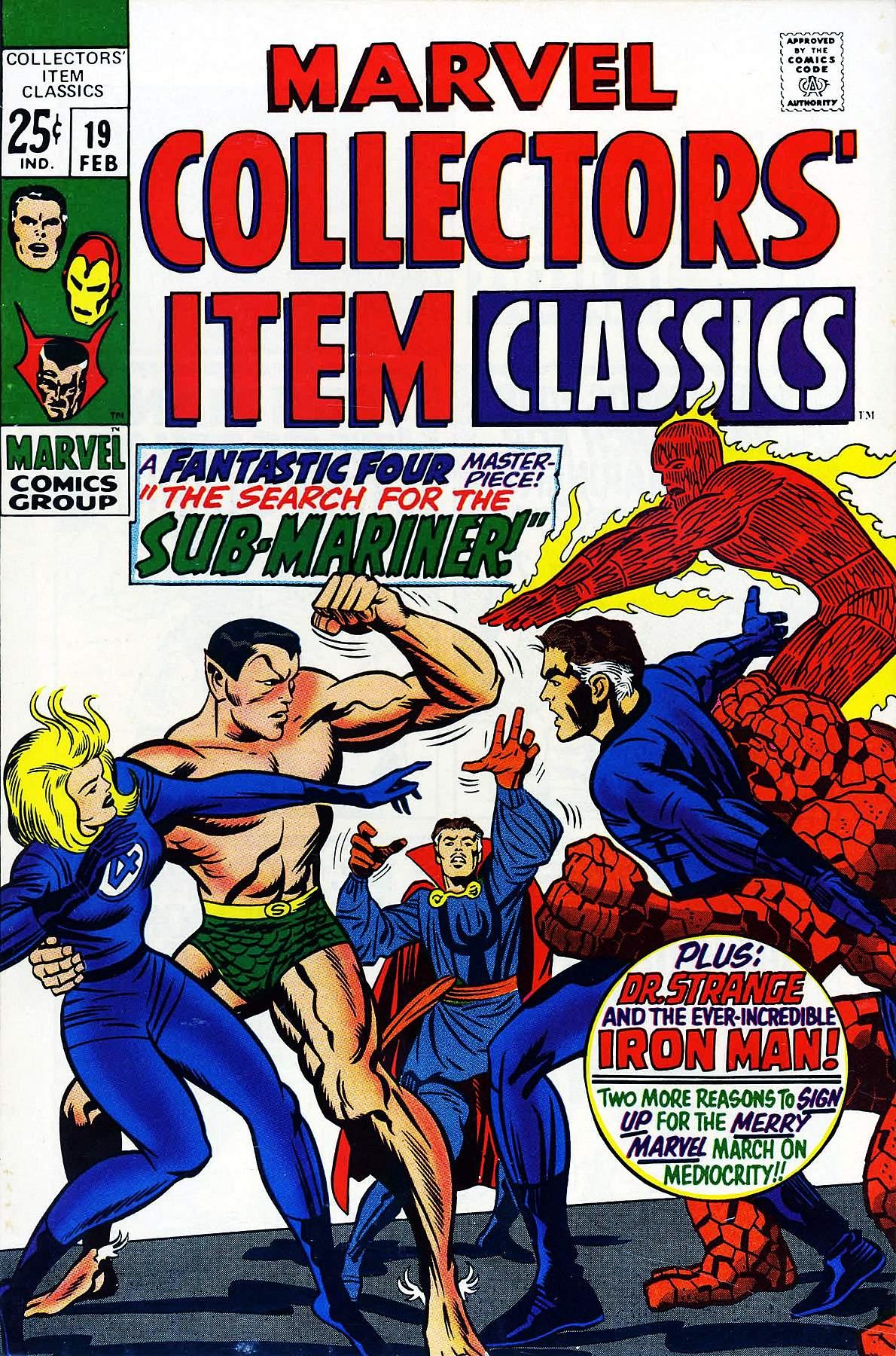 Marvel Collectors Item Classics 19 Page 1
