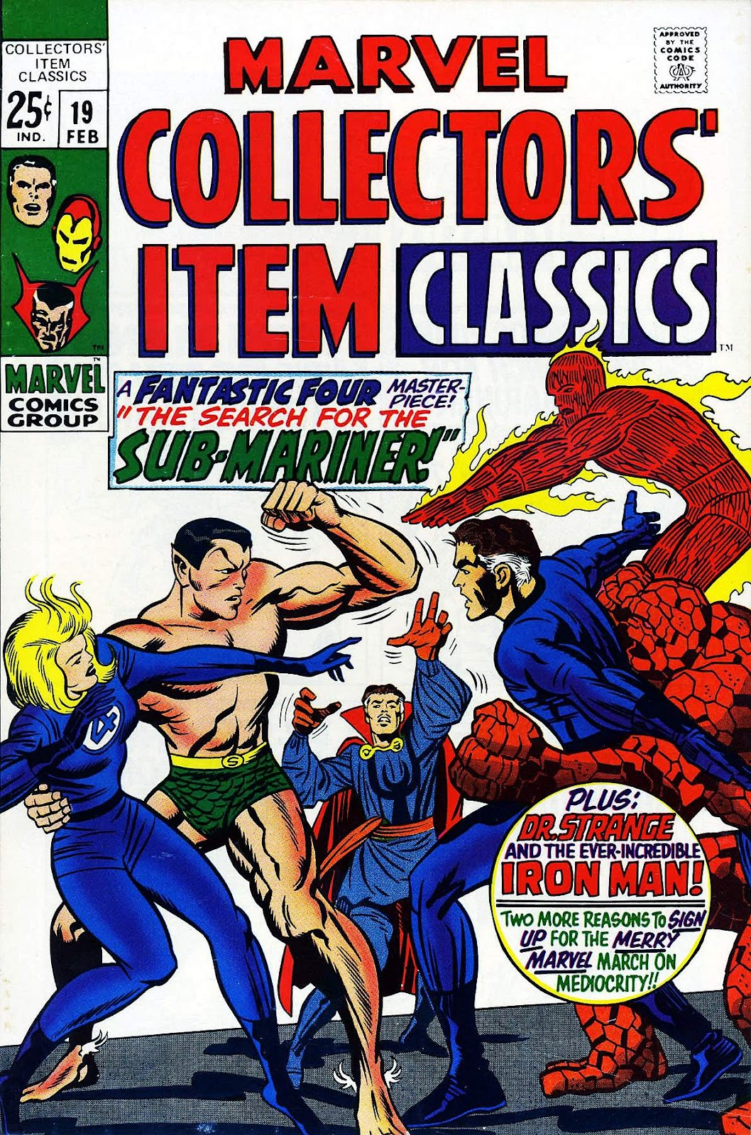 Marvel Collectors' Item Classics issue 19 - Page 1