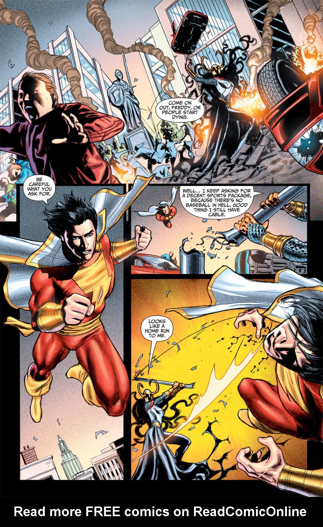 Read online Shazam! (2011) comic -  Issue #1 - 10