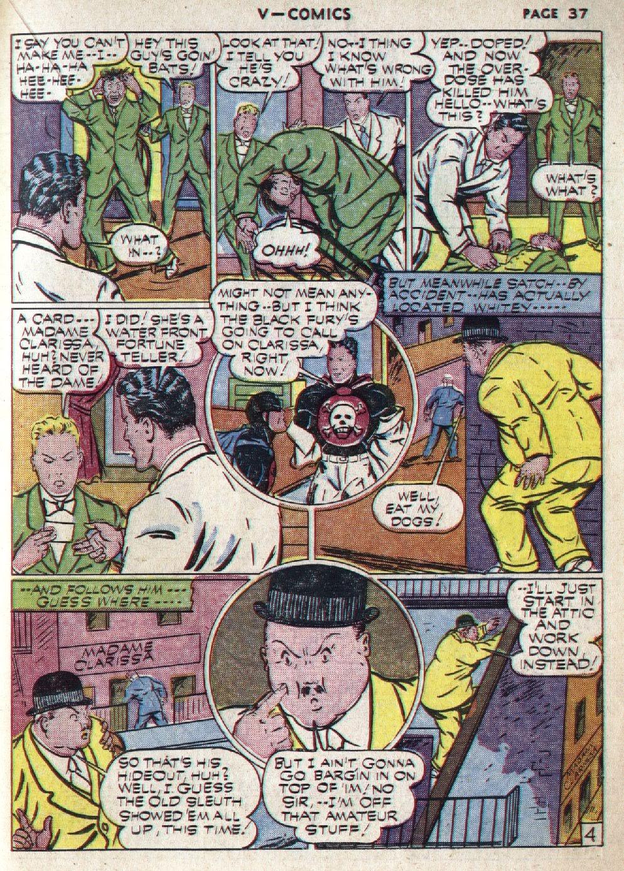 Read online V...- Comics comic -  Issue #1 - 38