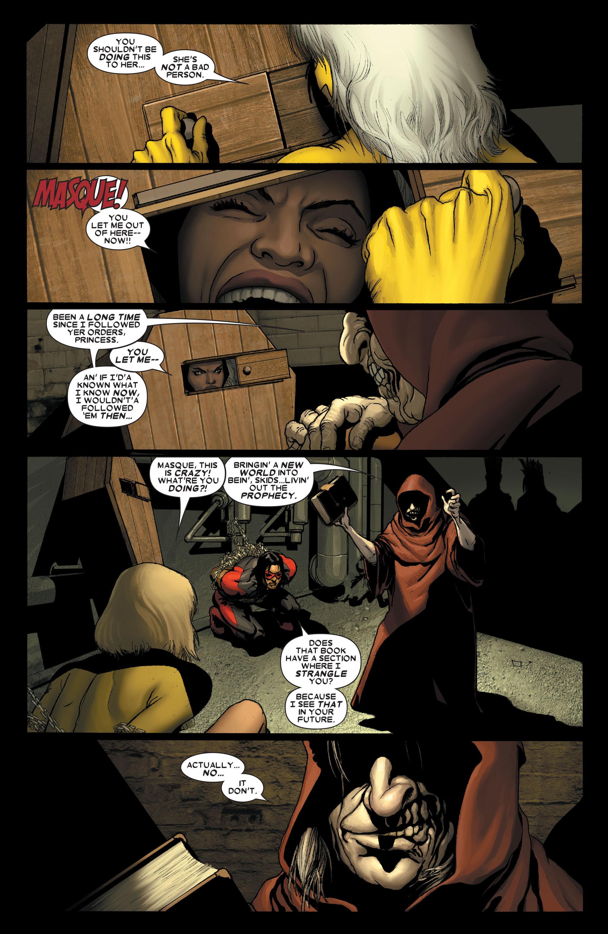 Read online Uncanny X-Men (1963) comic -  Issue #491 - 5