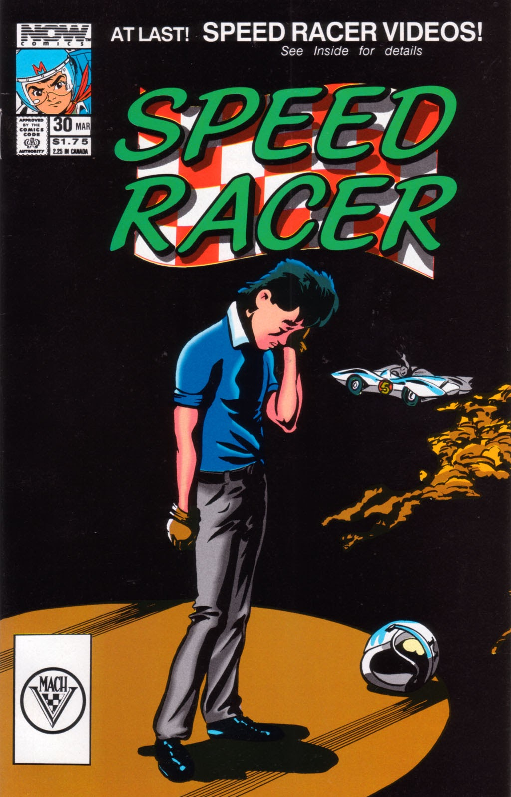 Speed Racer (1987) issue 30 - Page 1