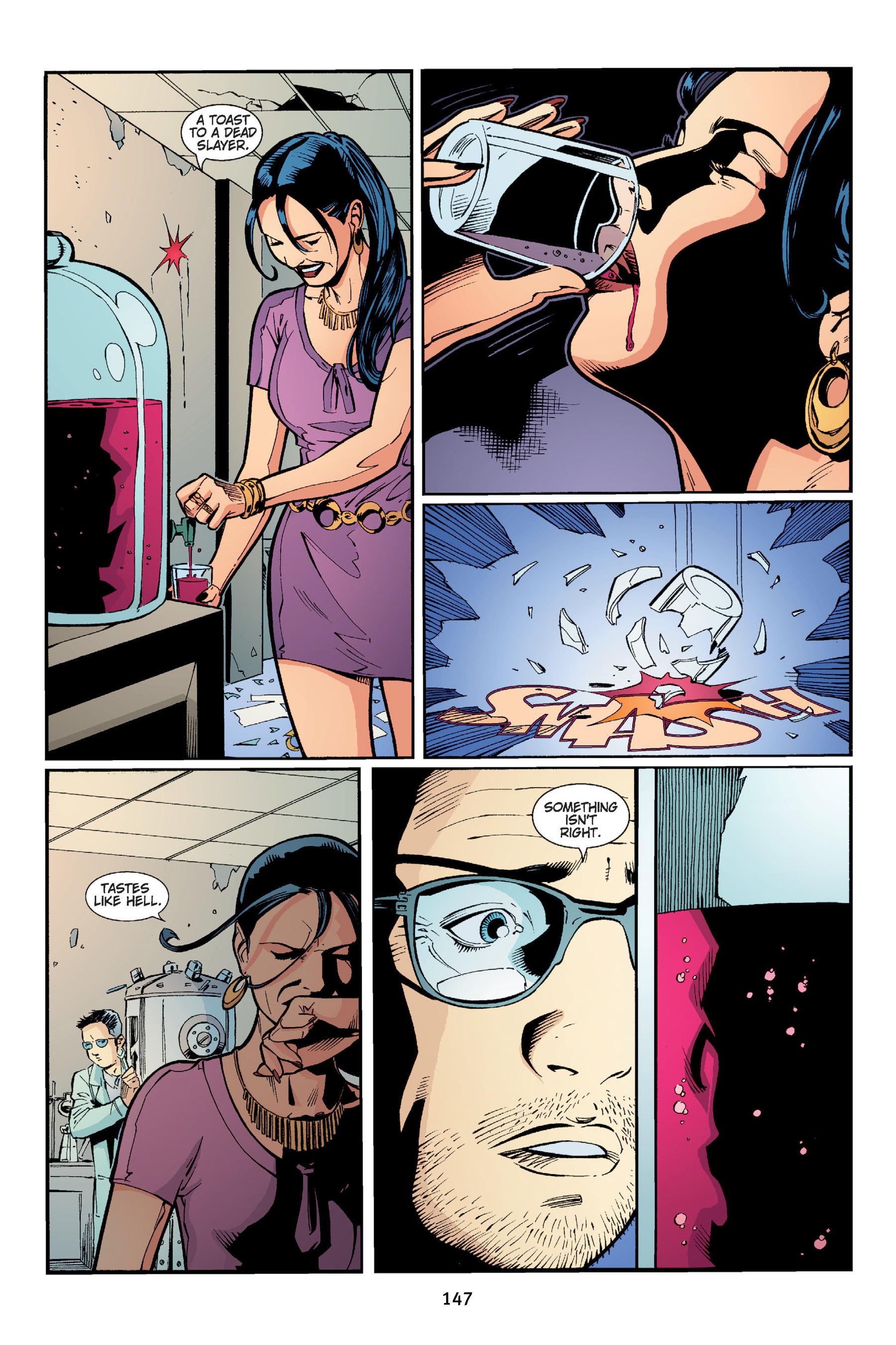 Read online Buffy the Vampire Slayer: Omnibus comic -  Issue # TPB 4 - 148