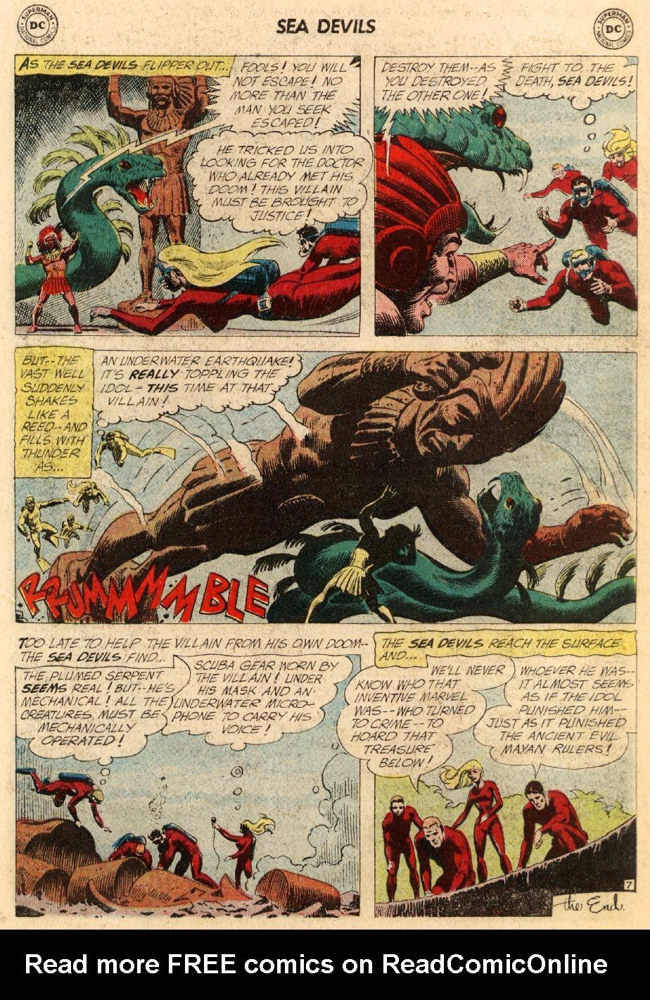 Read online Sea Devils comic -  Issue #5 - 35