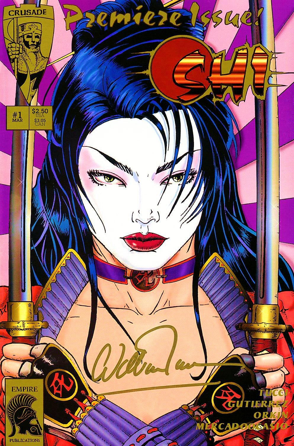 Read online Shi: The Way of the Warrior comic -  Issue #1 - 1