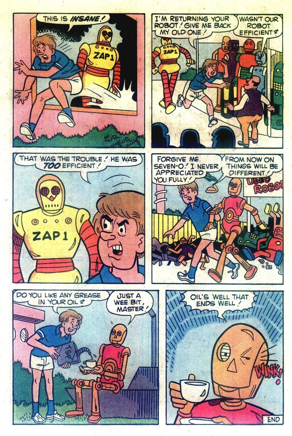 Read online Madhouse Comics comic -  Issue #120 - 7