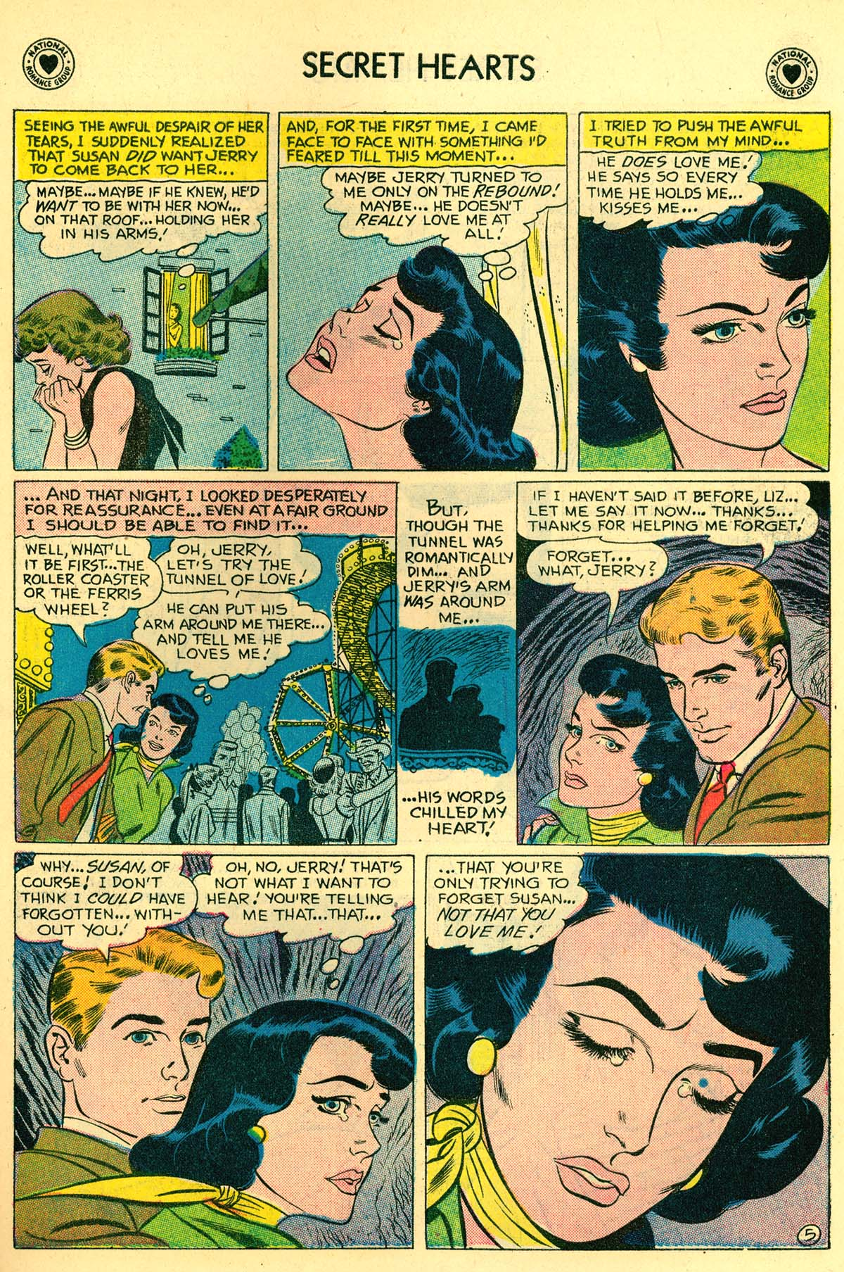 Read online Secret Hearts comic -  Issue #43 - 7
