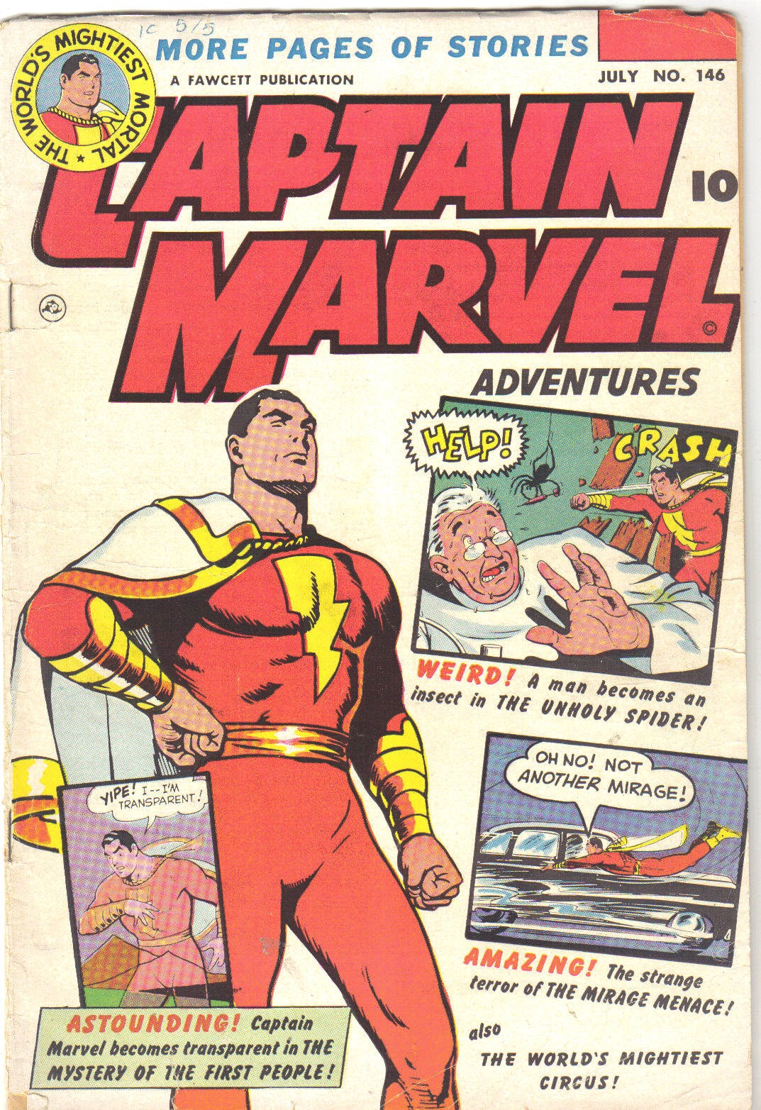 Captain Marvel Adventures issue 146 - Page 1