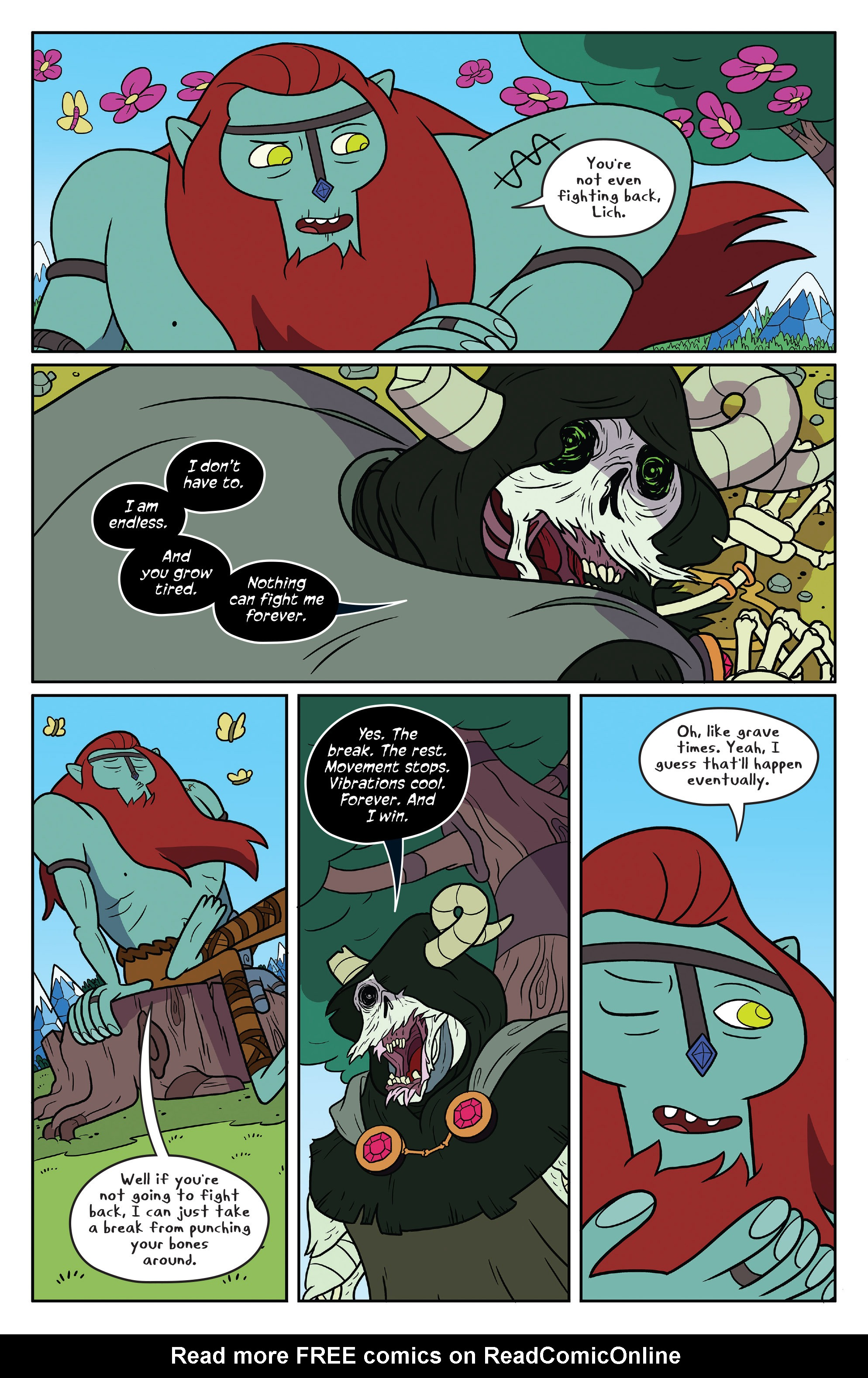 Read online Adventure Time comic -  Issue #50 - 4
