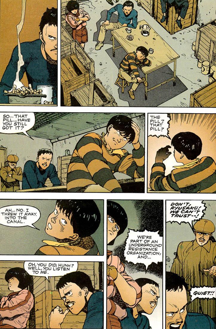 Read online Akira comic -  Issue #3 - 32