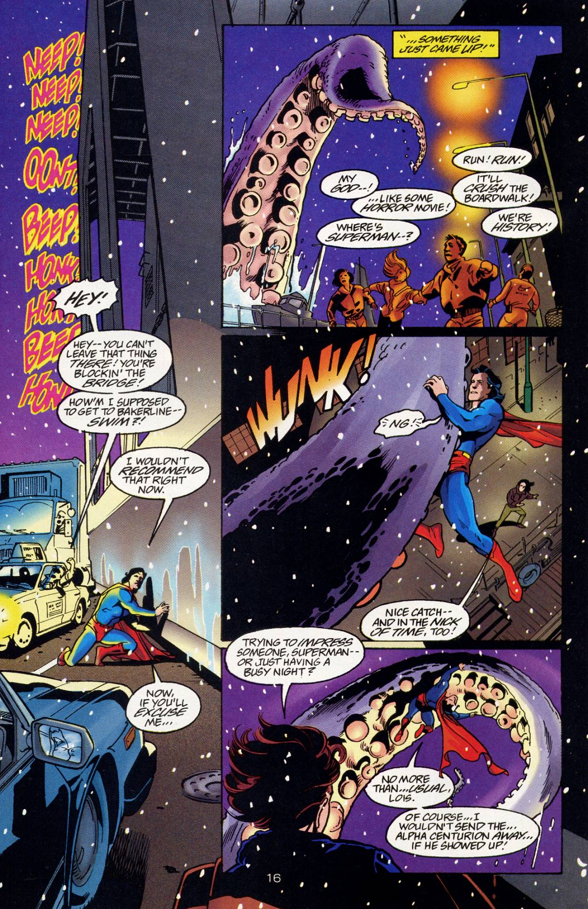 Read online Adventures of Superman (1987) comic -  Issue #532 - 17