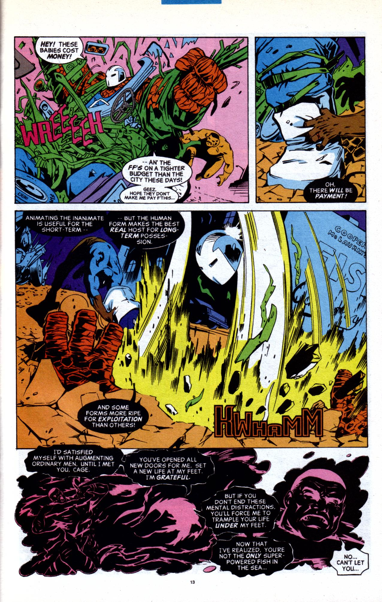 Cage (1992) issue 20 - Page 9