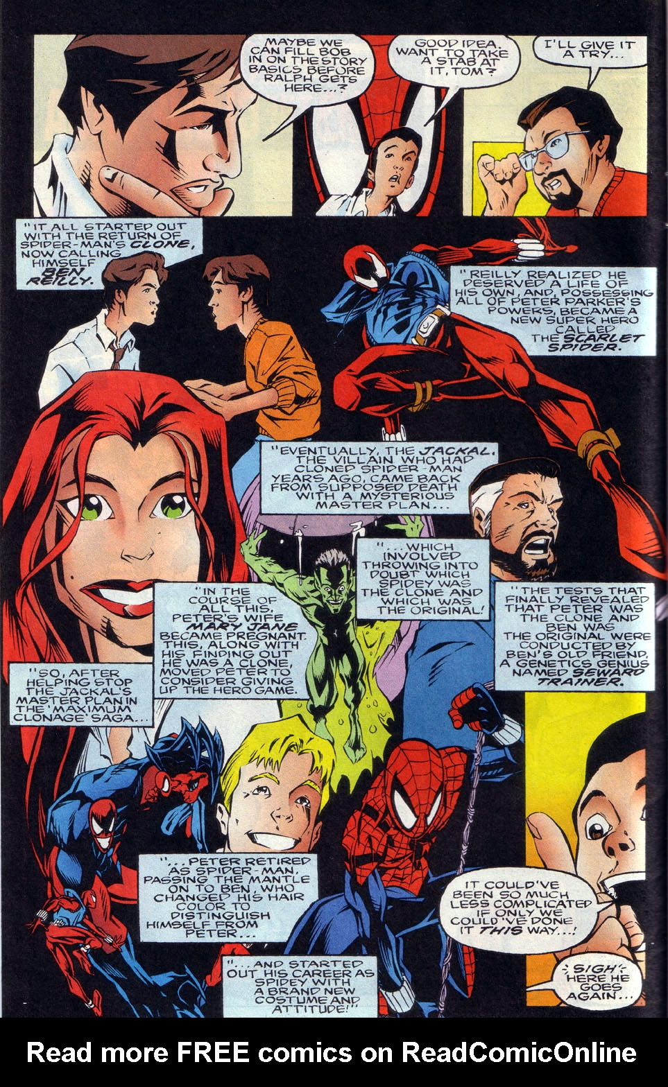 Read online 101 Ways to End the Clone Saga comic -  Issue #101 Ways to End the Clone Saga Full - 4