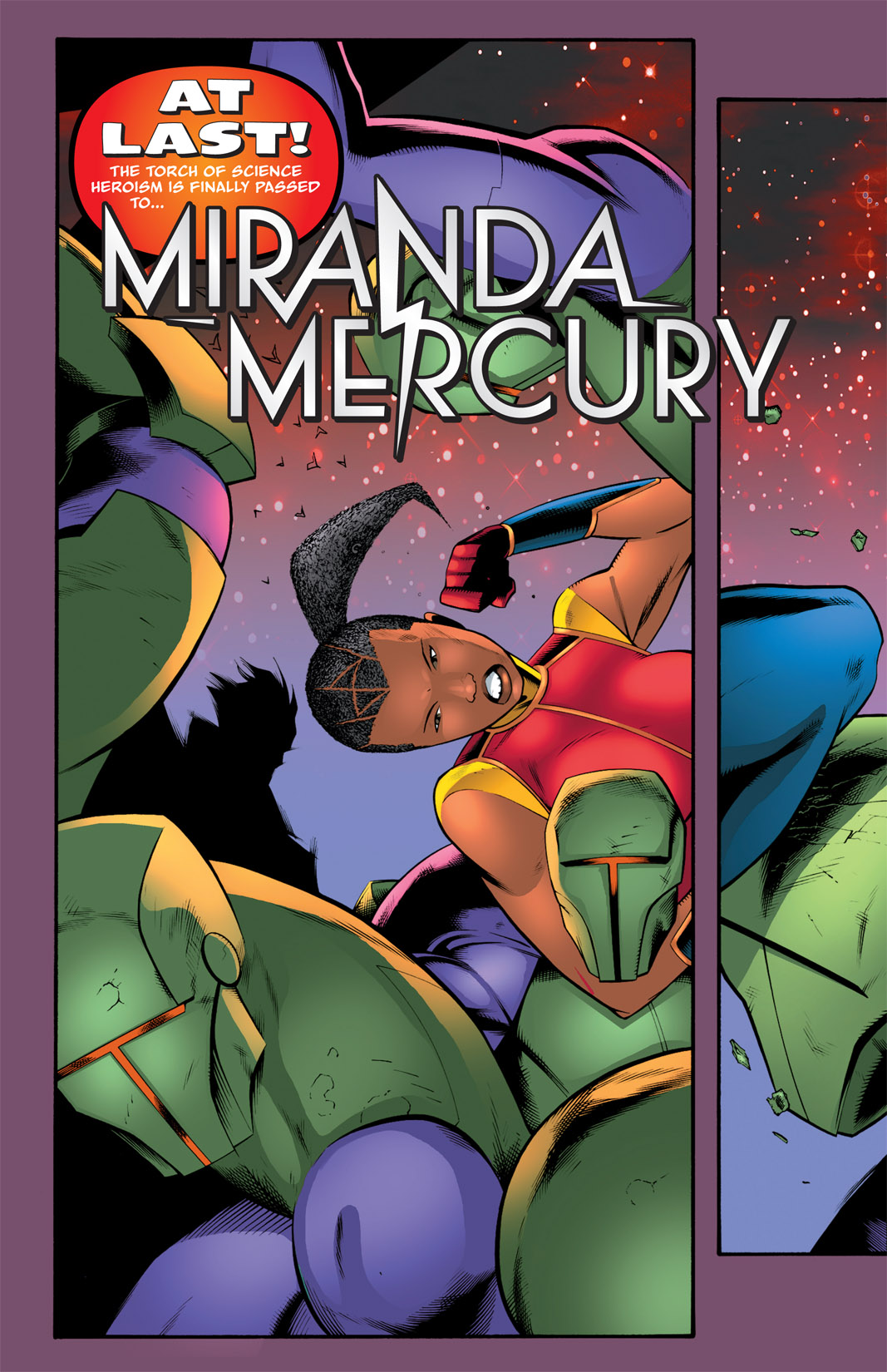 Read online The Many Adventures of Miranda Mercury: Time Runs Out comic -  Issue # TPB - 155