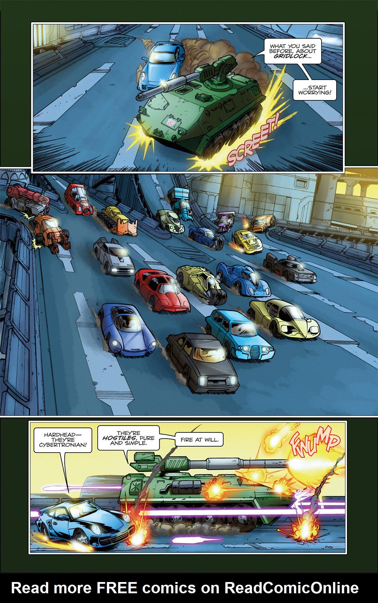 Read online Transformers Spotlight: Hardhead comic -  Issue # Full - 8