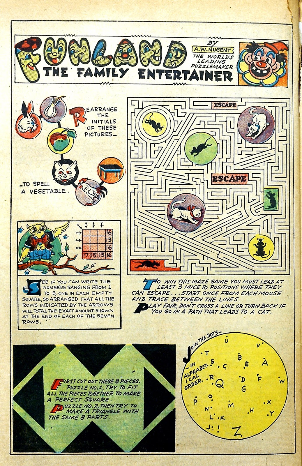 Read online Famous Funnies comic -  Issue #145 - 44