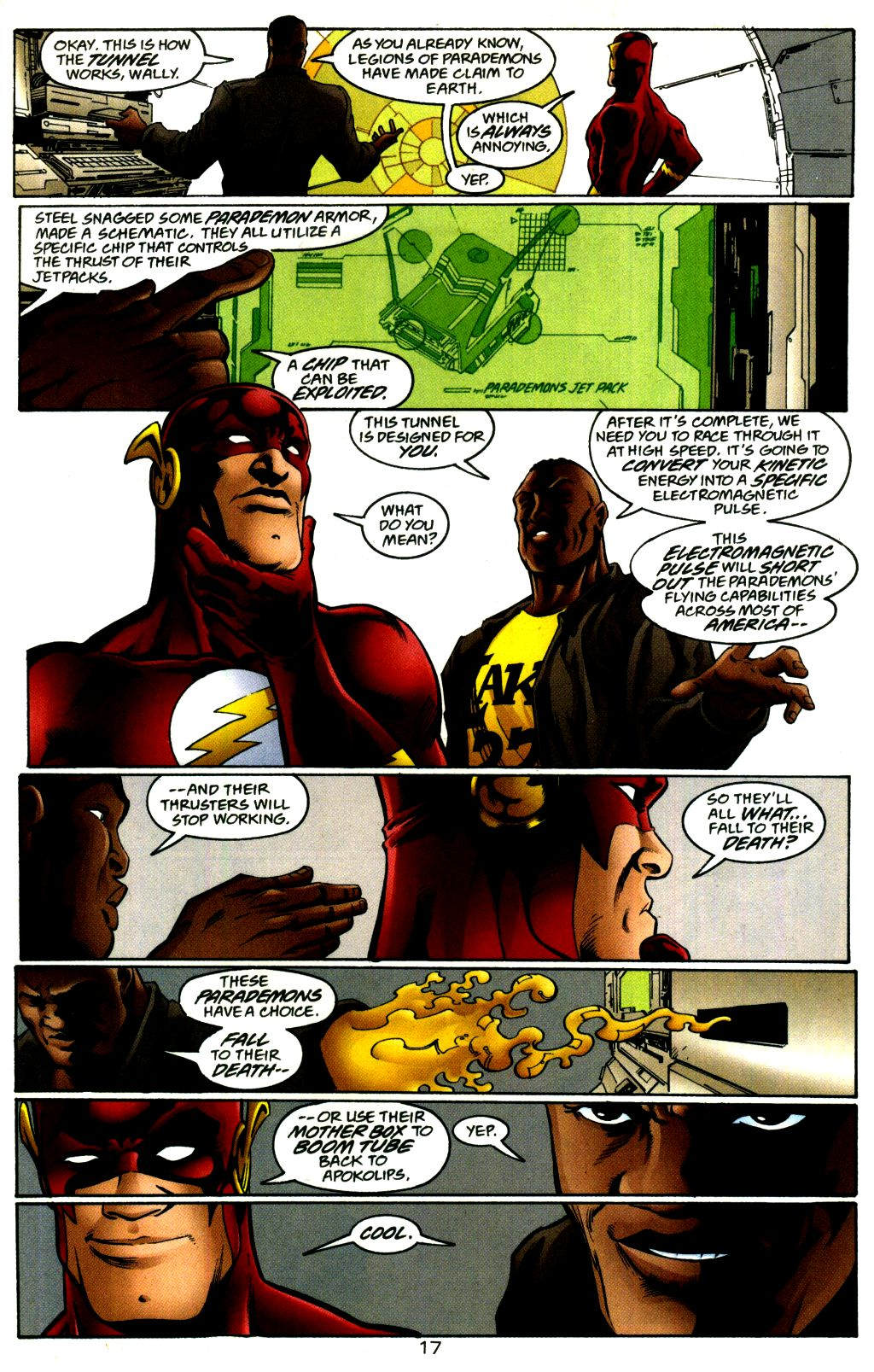 Read online The Flash: Our Worlds at War comic -  Issue # Full - 17