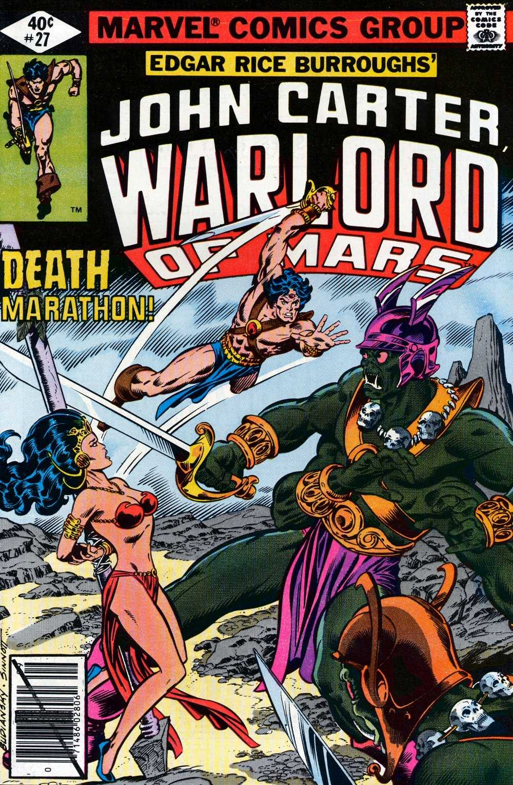 John Carter Warlord of Mars issue 27 - Page 1