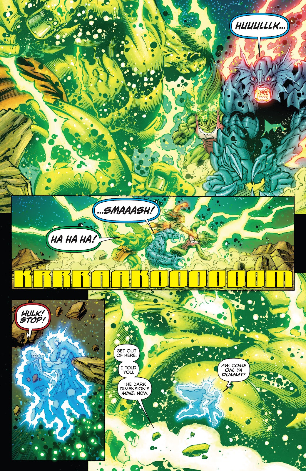Read online Incredible Hulks (2010) comic -  Issue # _TPB Heart of the Monster - 121