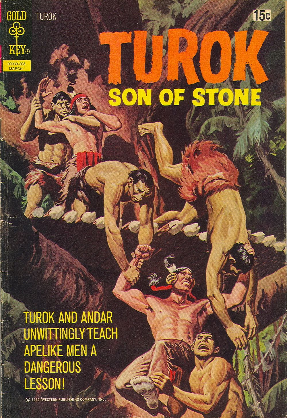 Read online Turok, Son of Stone comic -  Issue #77 - 1