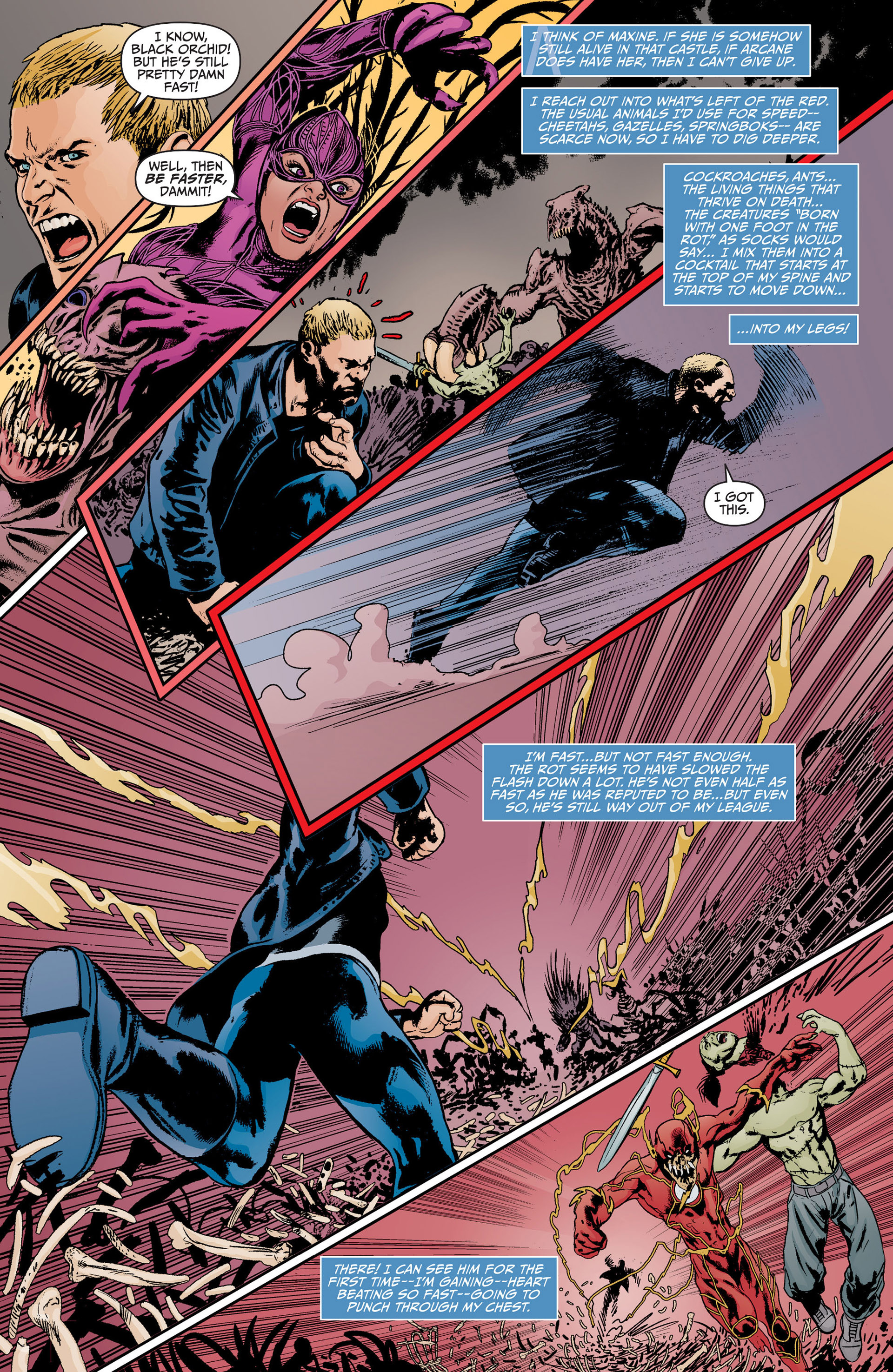Read online Animal Man (2011) comic -  Issue #17 - 4