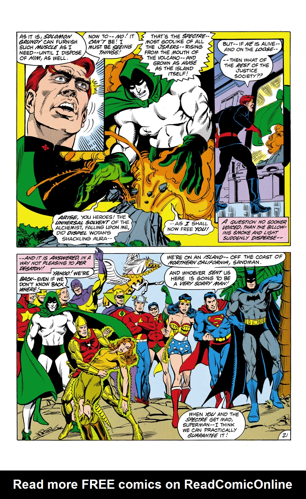 Read online All-Star Squadron comic -  Issue #3 - 22