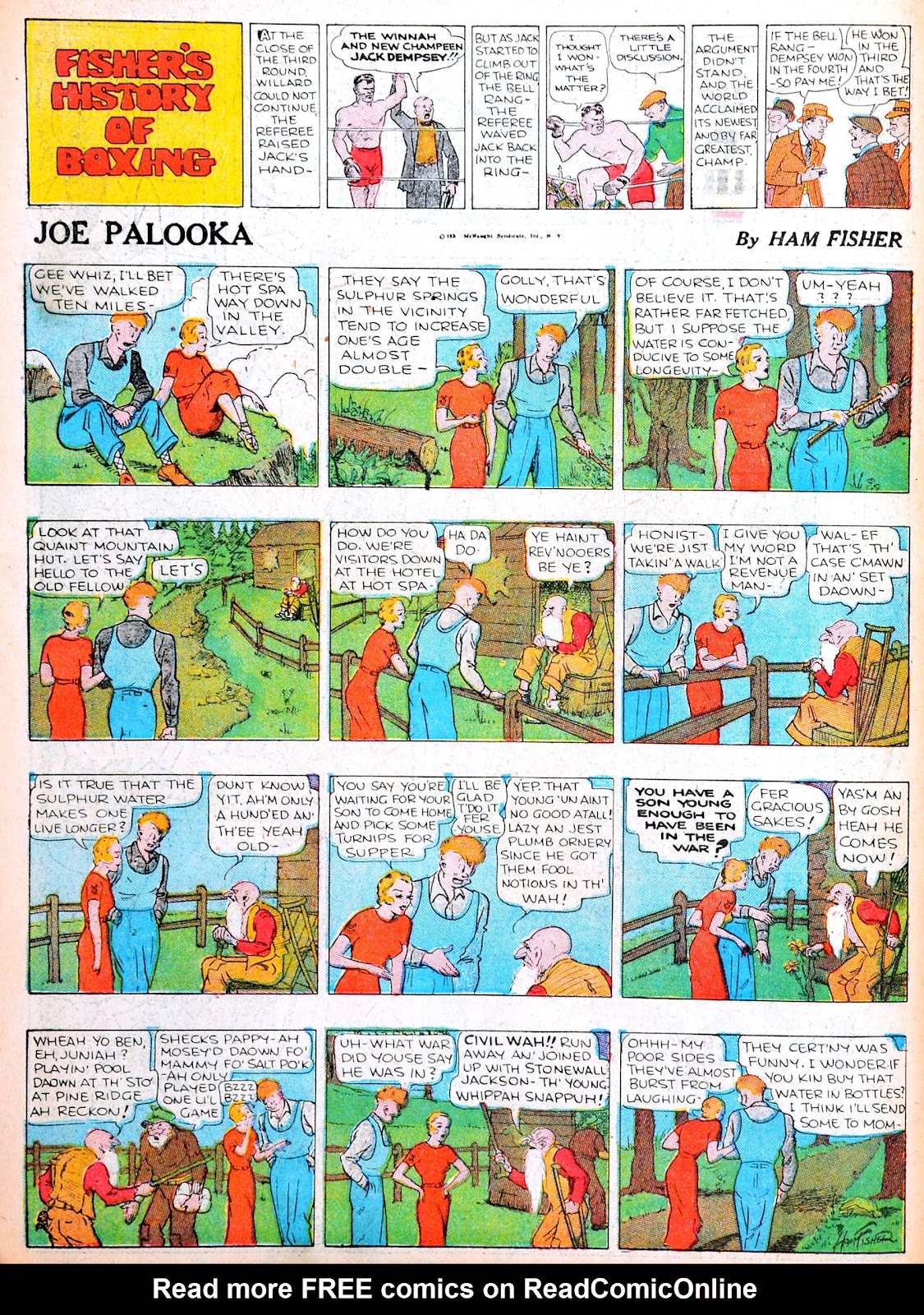 Read online Famous Funnies comic -  Issue #13 - 48