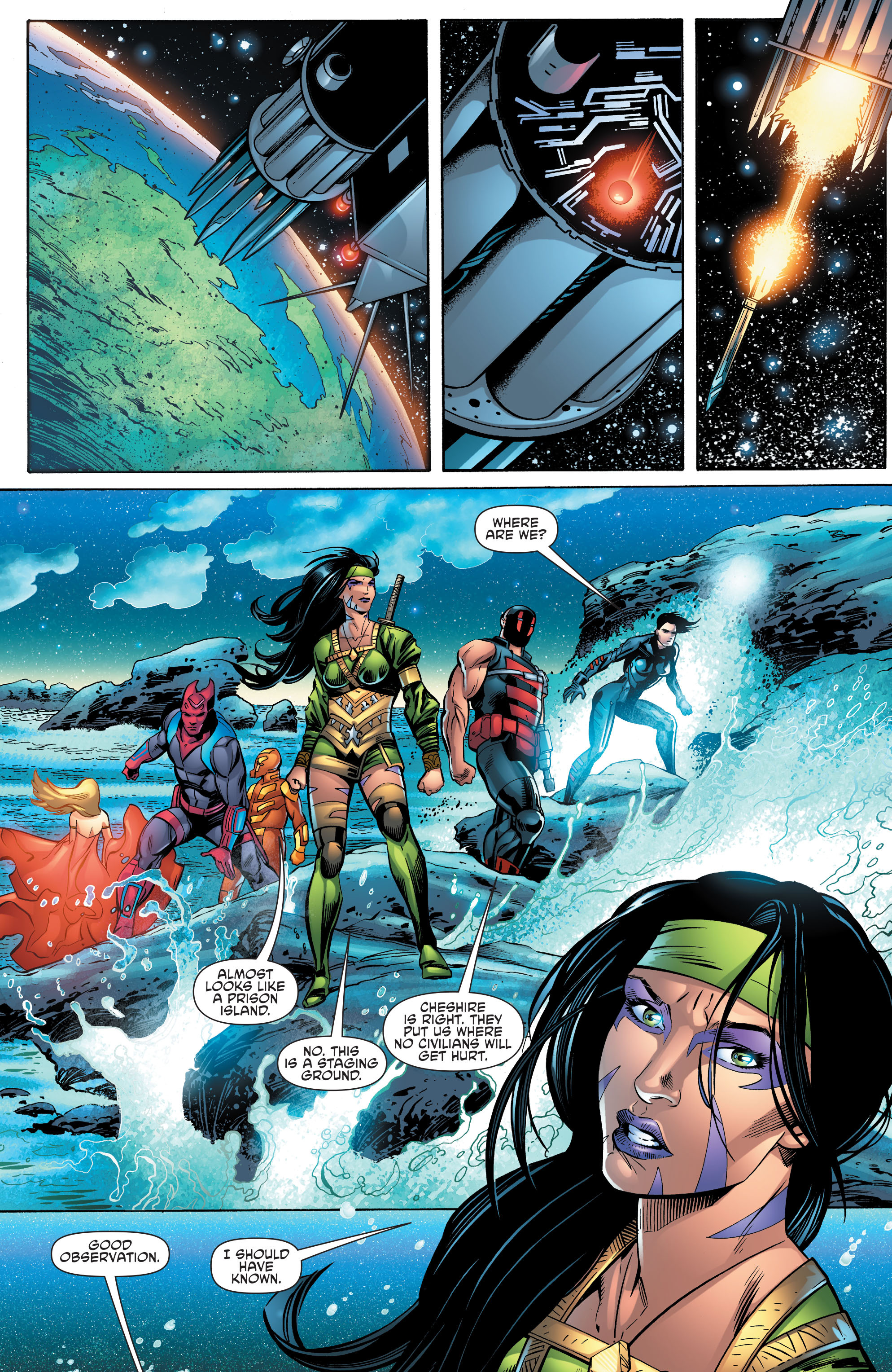 Read online Aquaman and the Others comic -  Issue #10 - 18
