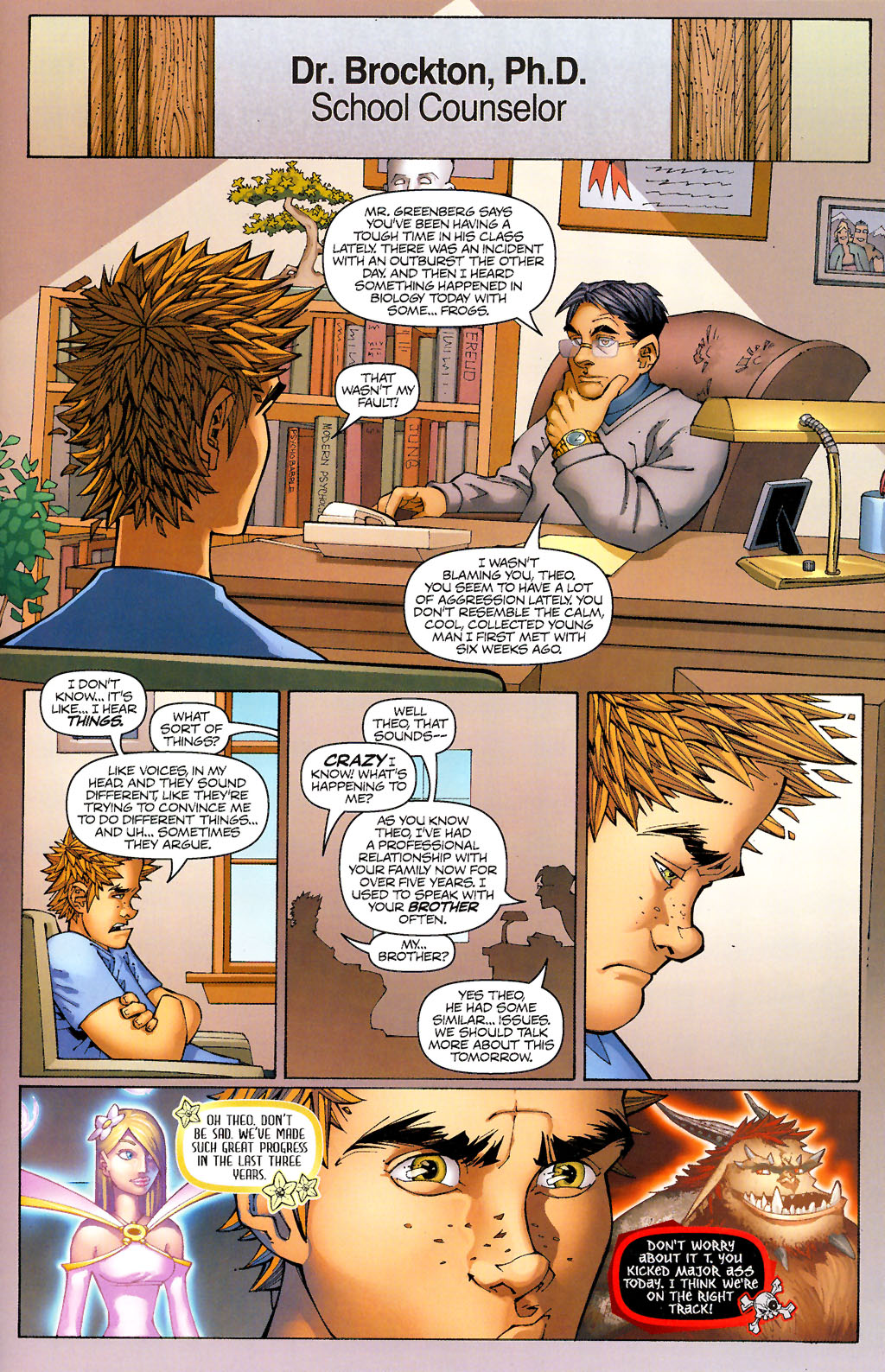 Read online Shrugged (2006) comic -  Issue #1 - 19