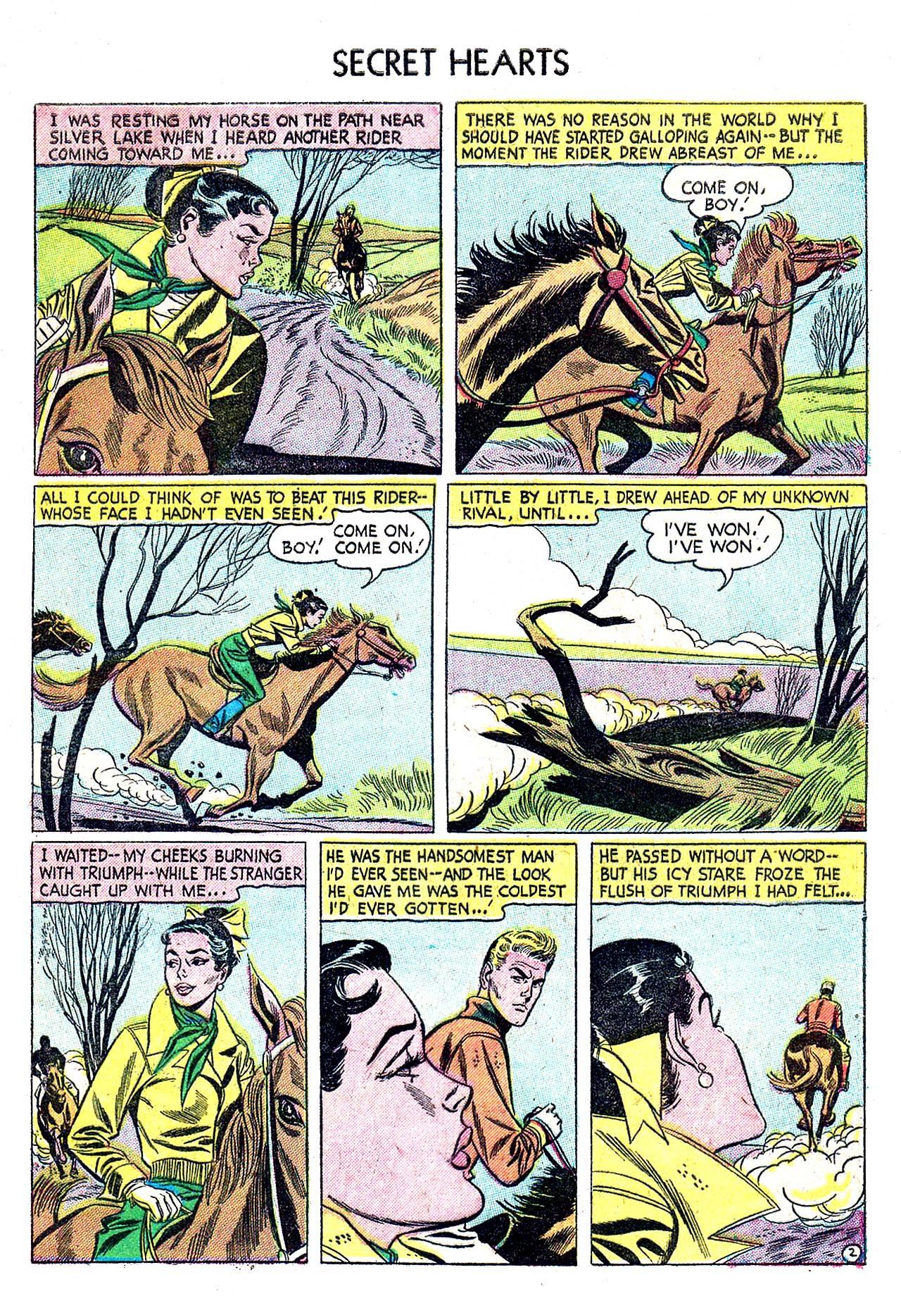 Read online Secret Hearts comic -  Issue #32 - 27