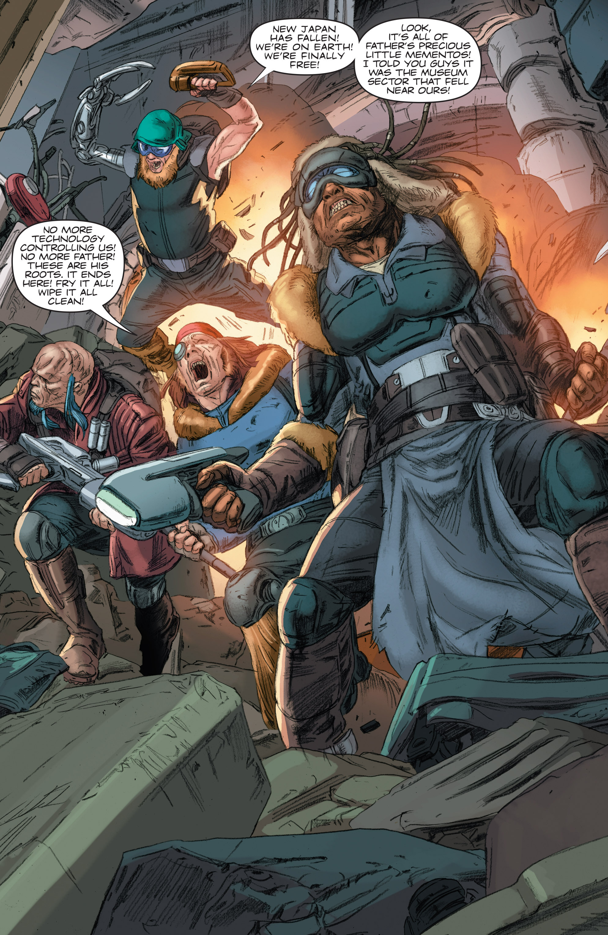 Read online 4001 A.D.: Bloodshot comic -  Issue #4001 A.D.: Bloodshot Full - 8