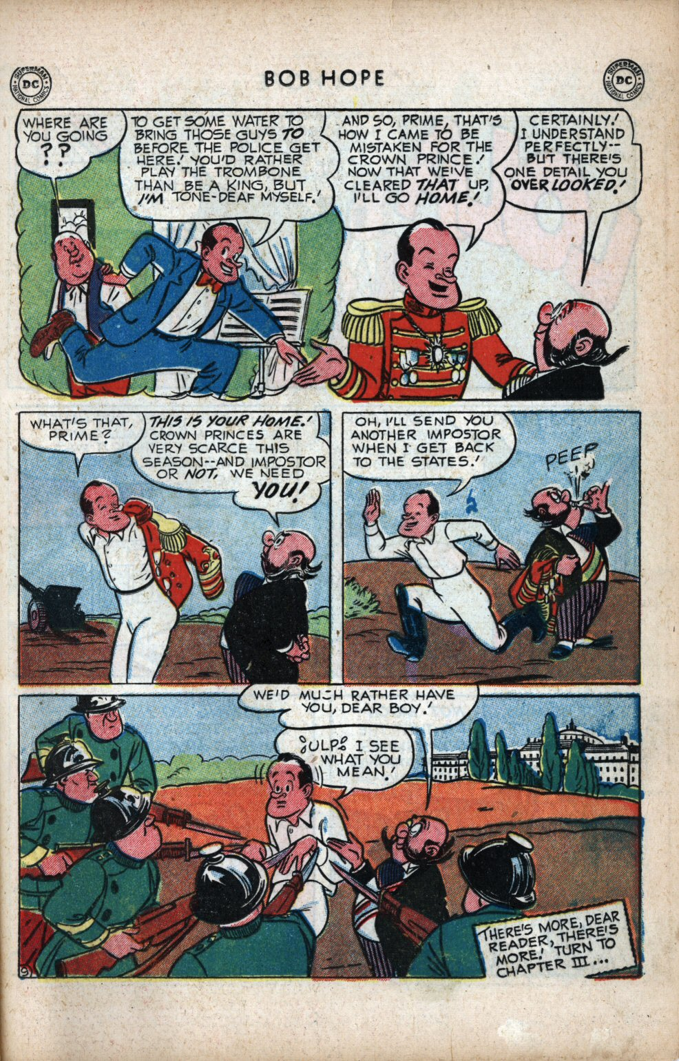 The Adventures of Bob Hope issue 11 - Page 19