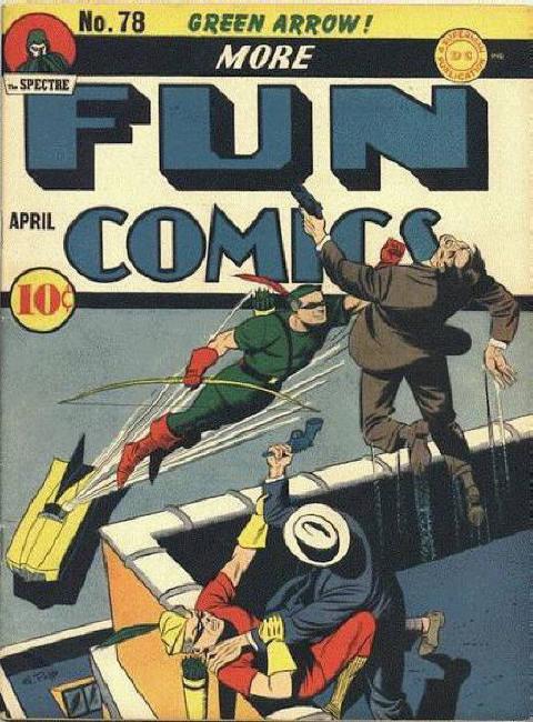 More Fun Comics 78 Page 1