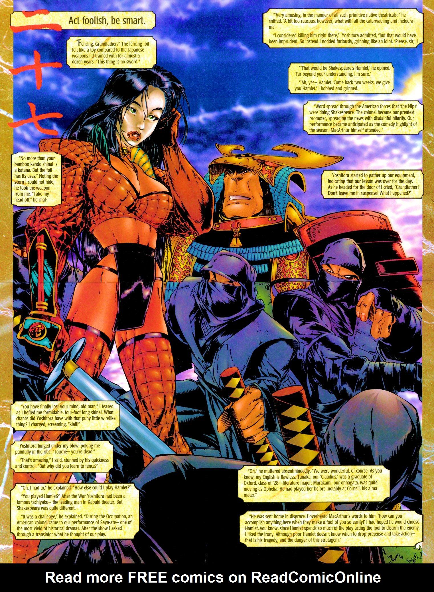 Read online Shi: Senryaku comic -  Issue #3 - 7