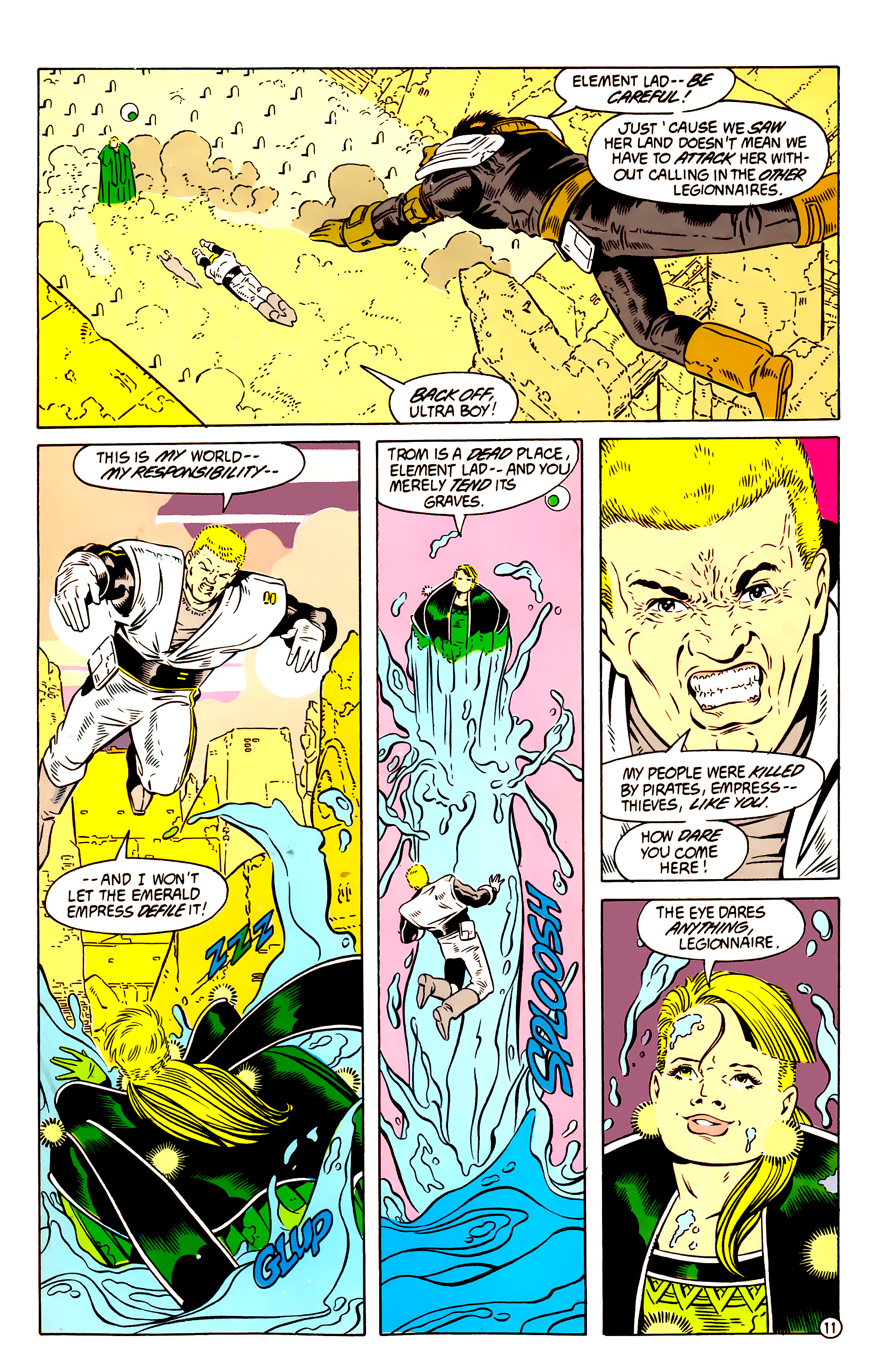 Legion of Super-Heroes (1984) 58 Page 11