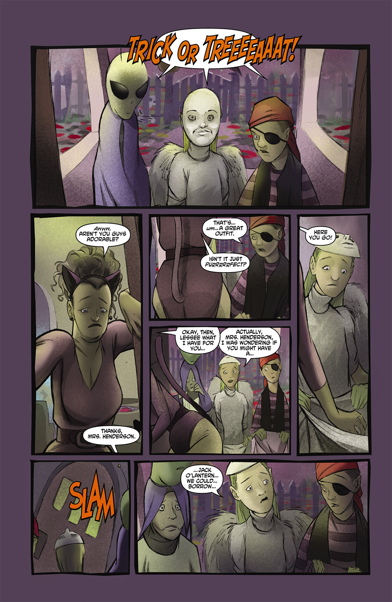 Read online Trick 'r Treat comic -  Issue #2 - 3