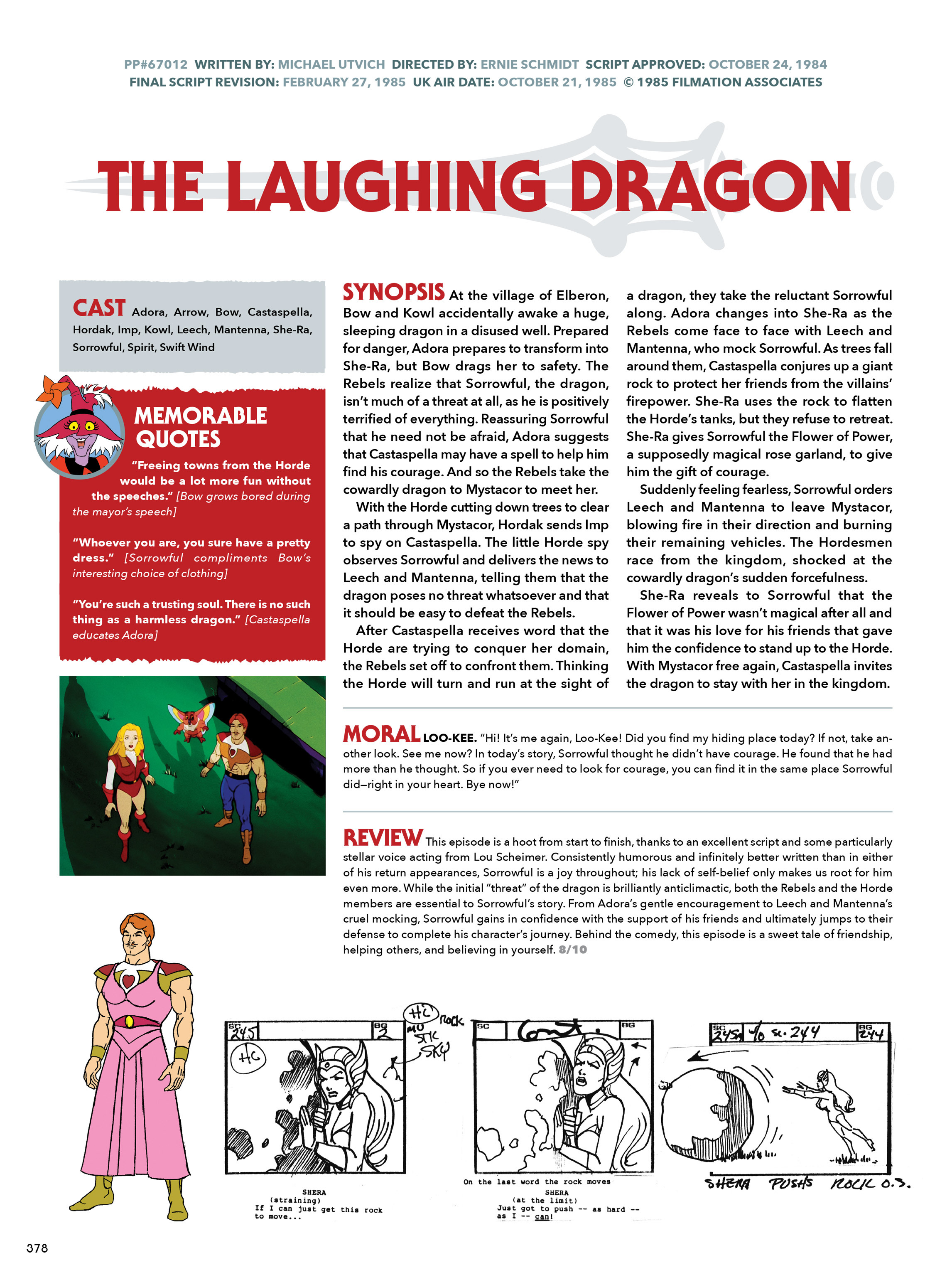 Read online He-Man and She-Ra: A Complete Guide to the Classic Animated Adventures comic -  Issue # TPB (Part 2) - 179