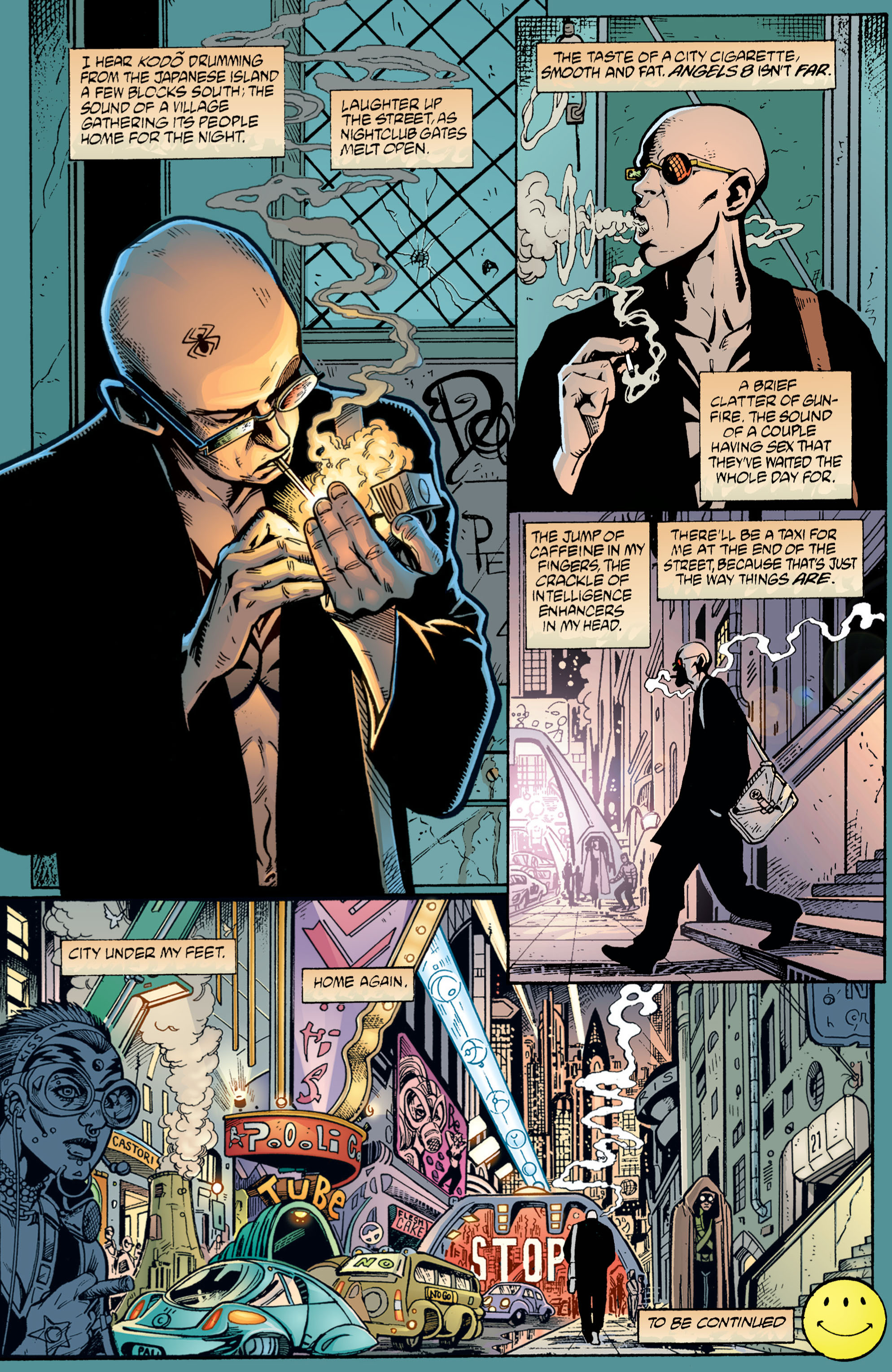 Read online Transmetropolitan comic -  Issue #1 - 25
