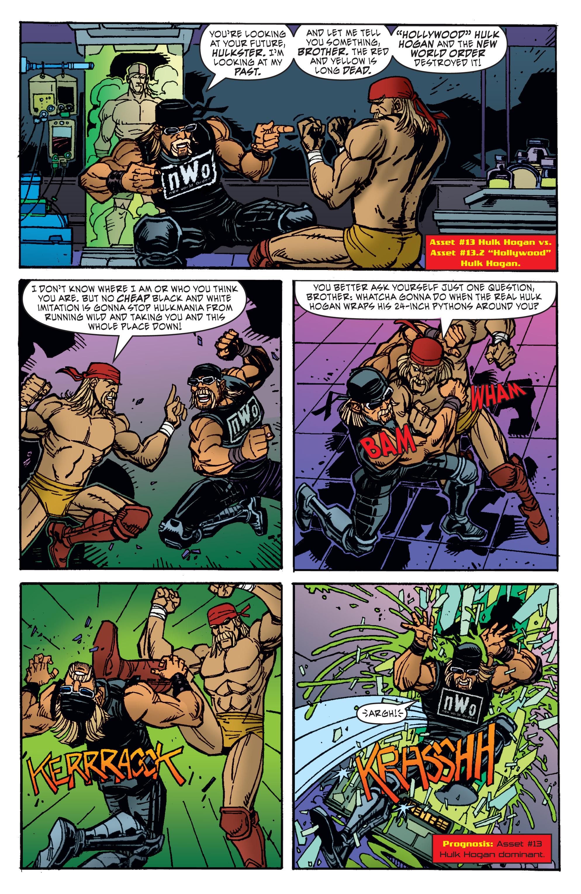 Read online WWE Superstars comic -  Issue #11 - 6