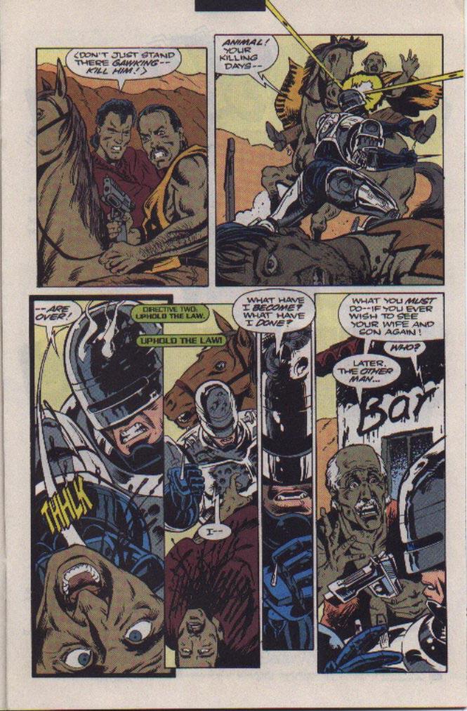 Read online Robocop (1990) comic -  Issue #22 - 8