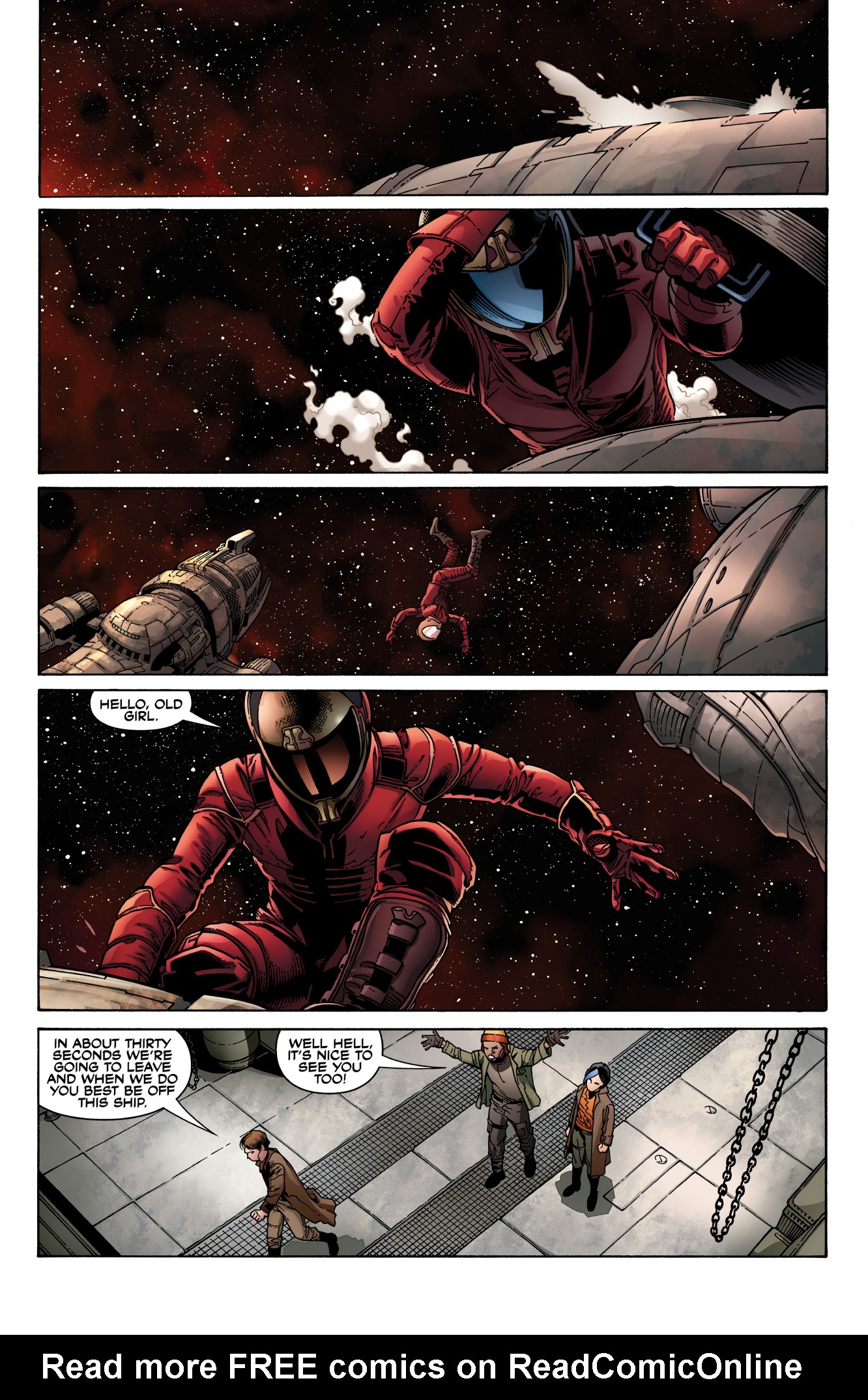 Read online Serenity: Firefly Class 03-K64  Leaves on the Wind comic -  Issue #2 - 17
