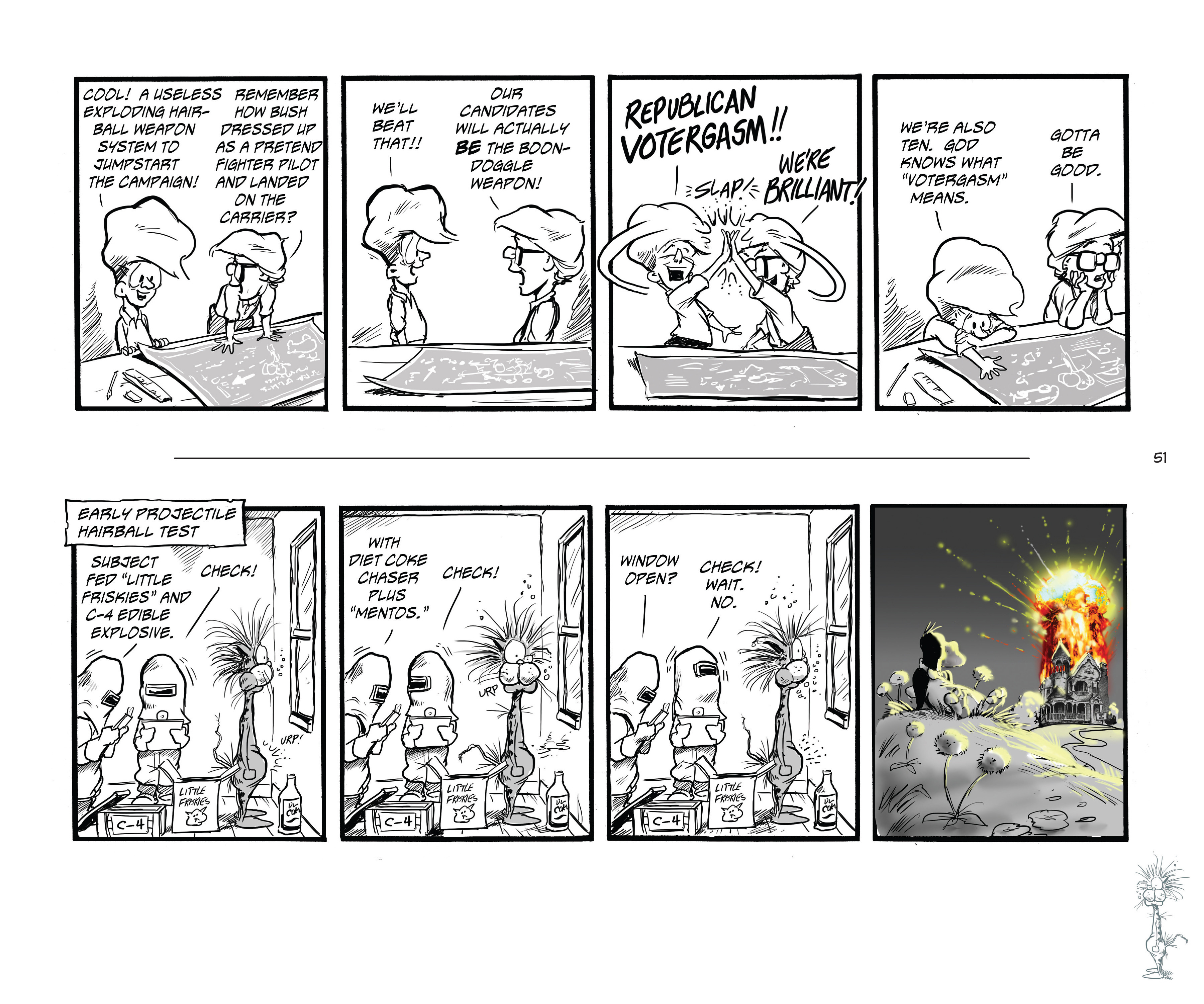 Read online Bloom County Episode XI: A New Hope comic -  Issue # Full - 53