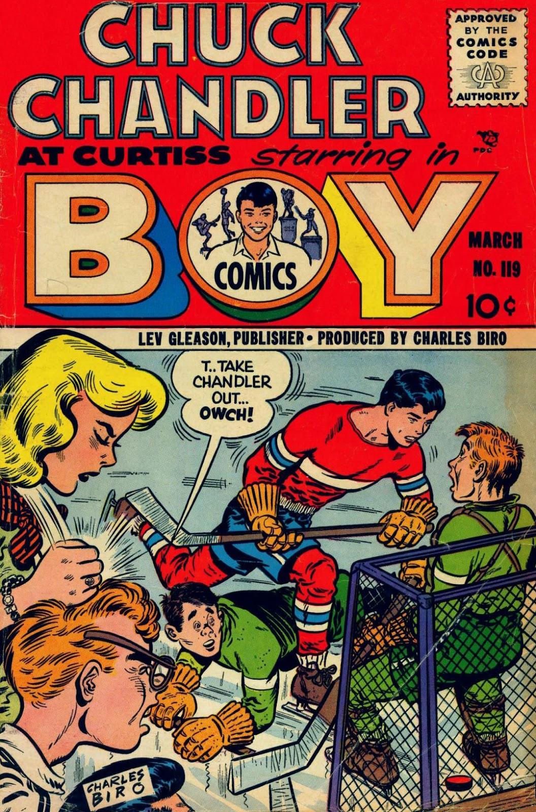 Boy Comics 119 Page 1