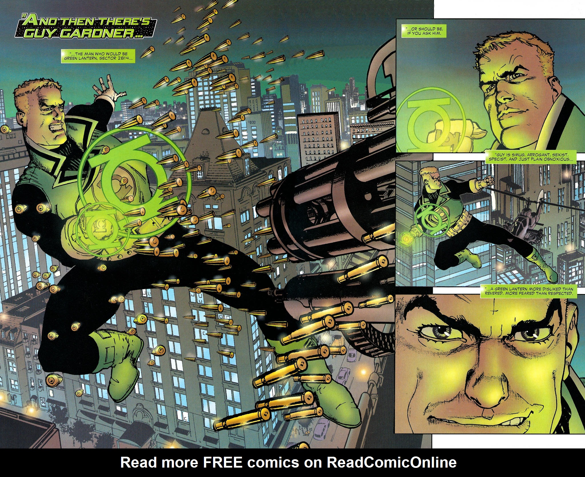 Read online Guy Gardner: Collateral Damage comic -  Issue #1 - 8