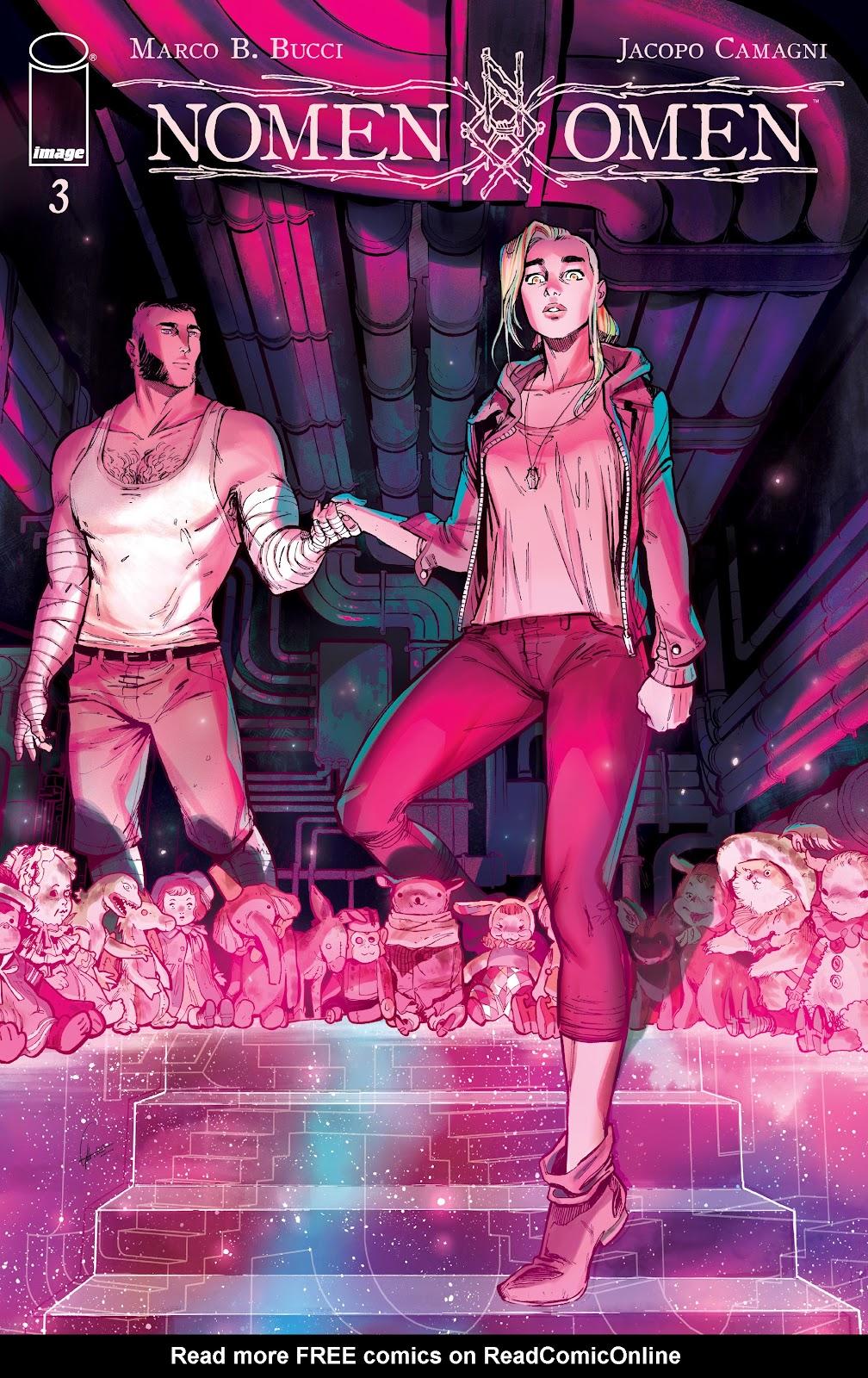 Read online Nomen Omen comic -  Issue #3 - 1