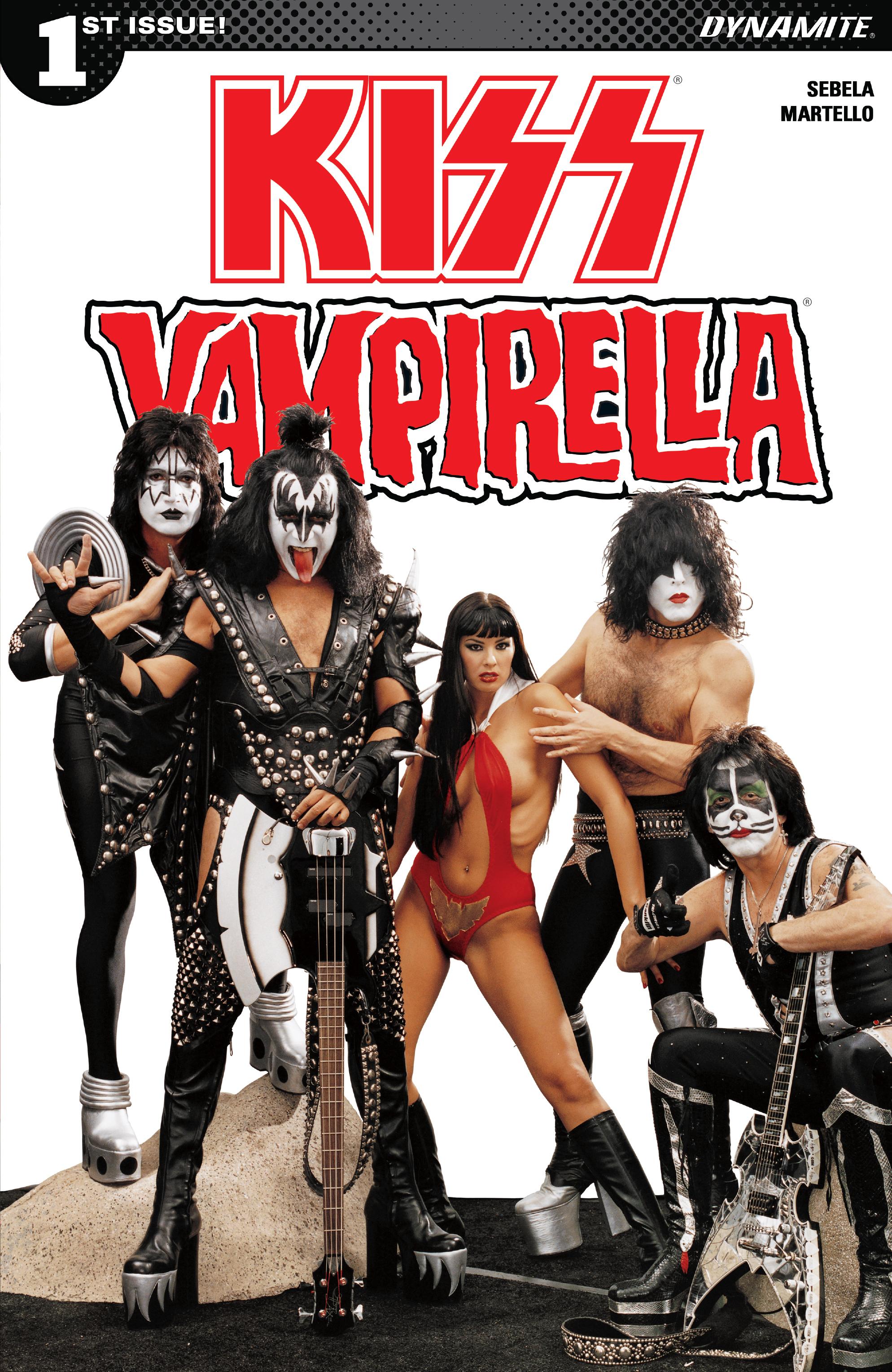 Read online Kiss/Vampirella comic -  Issue #1 - 4