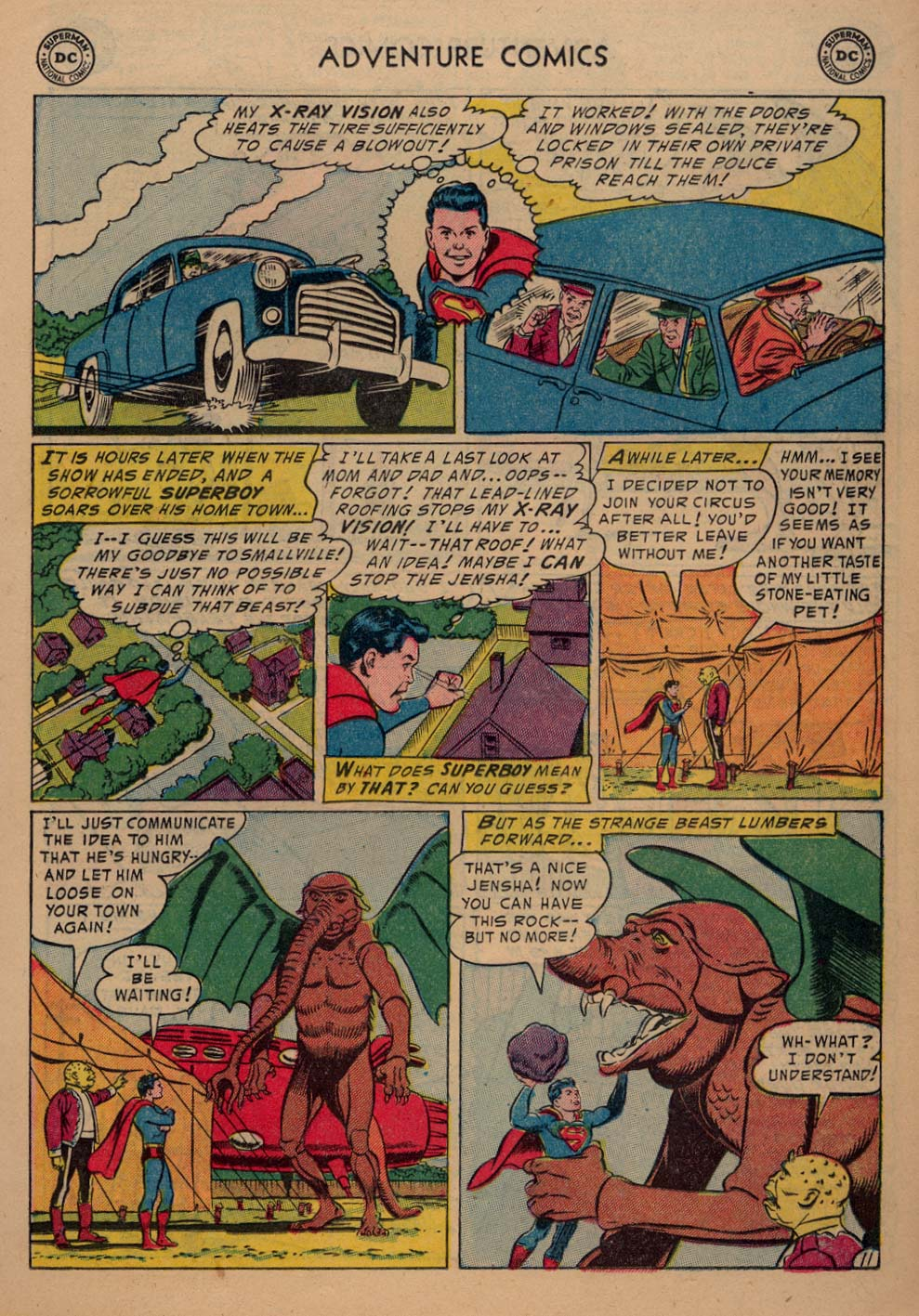 Read online Adventure Comics (1938) comic -  Issue #198 - 13
