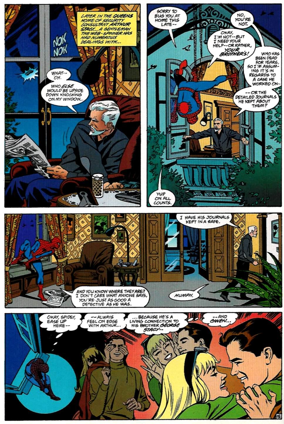 Read online Spider-Man: Lifeline comic -  Issue #1 - 16