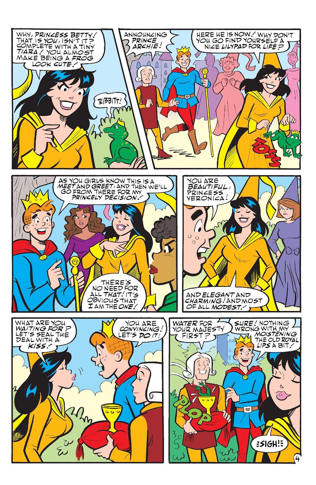 Read online Betty & Veronica Friends Forever: Return To Storybook Land comic -  Issue # Full - 11